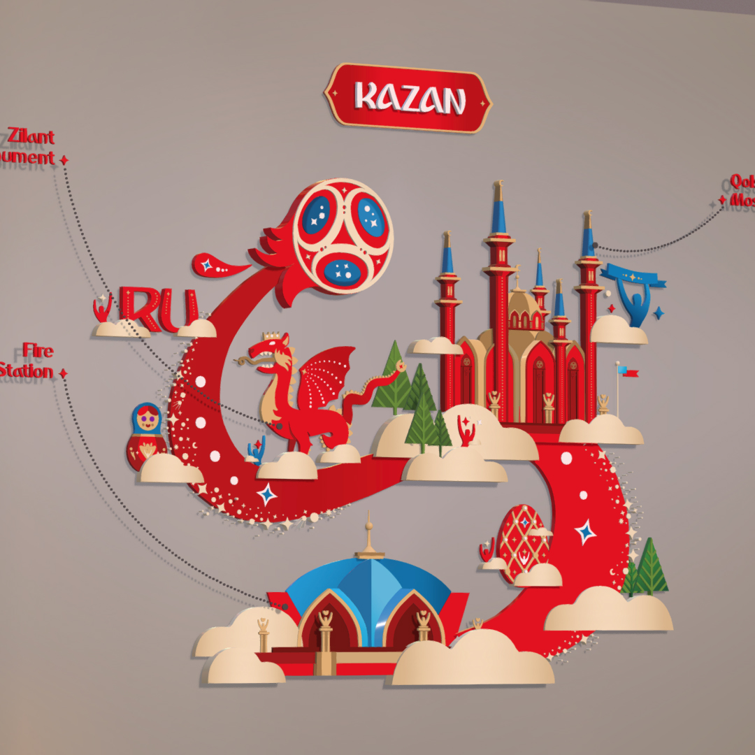 official world cup 2018 russia host city kazan 3d model max fbx jpeg jpg ma mb obj 270699