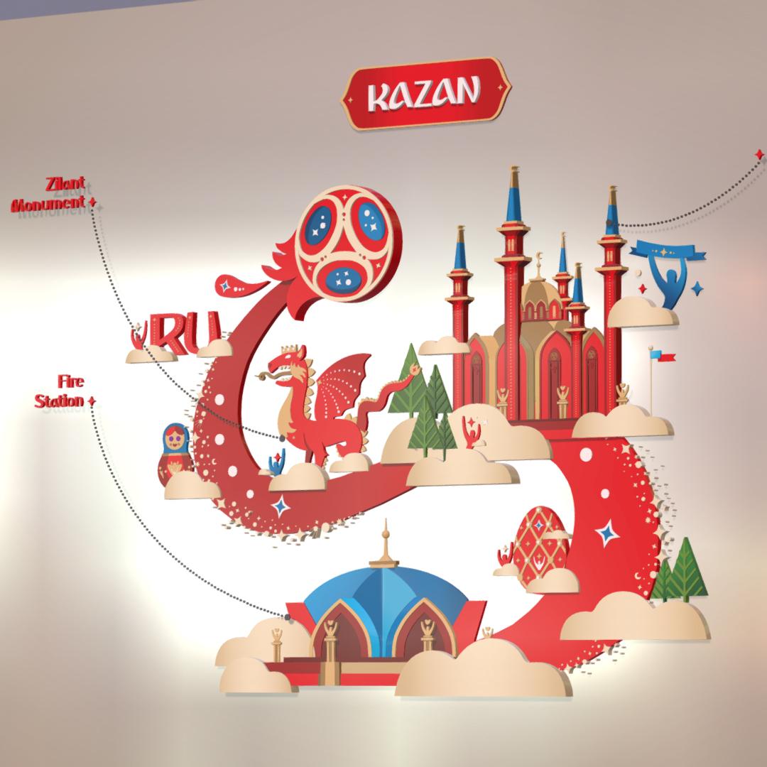 official world cup 2018 russia host city kazan 3d model max fbx jpeg jpg ma mb obj 270700