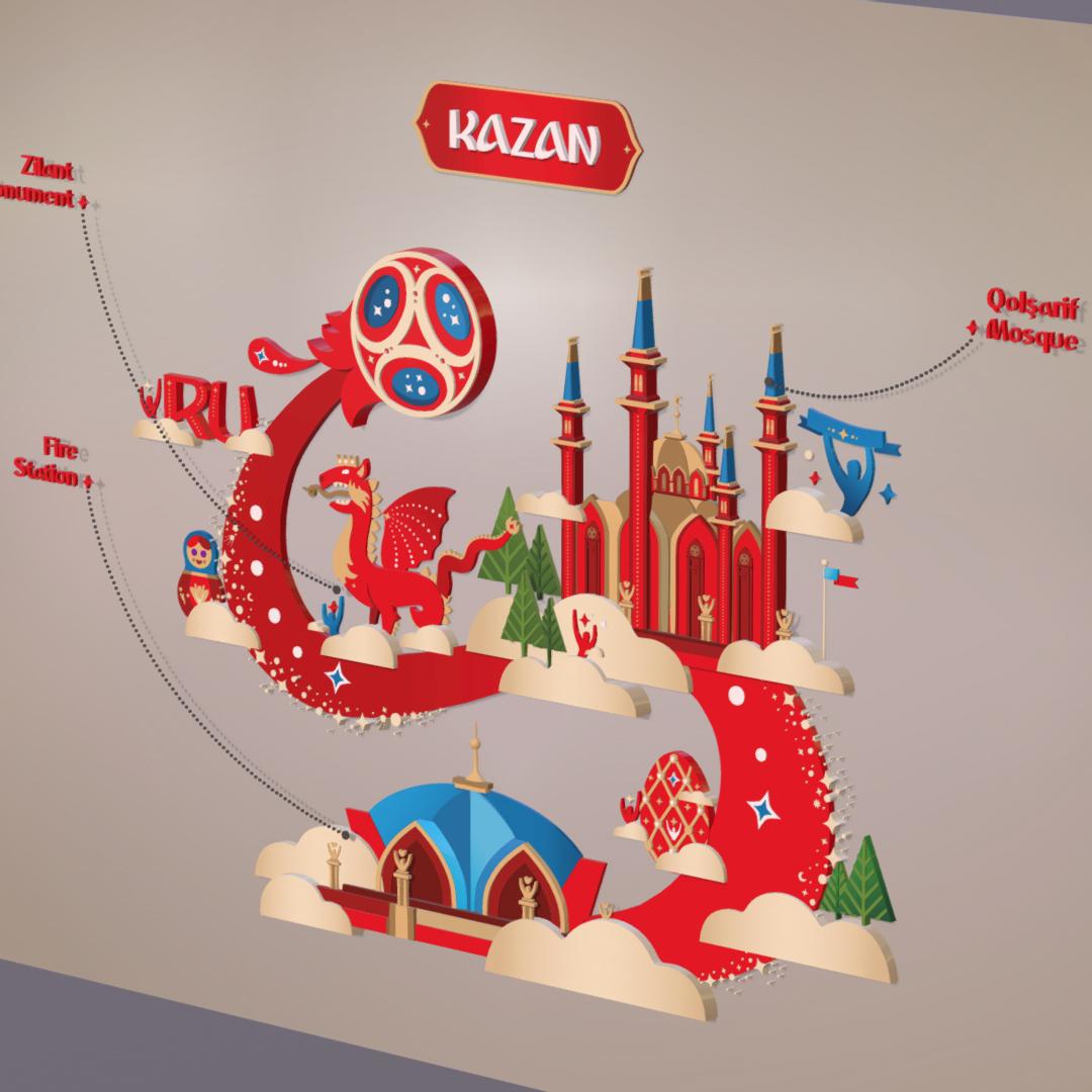 official world cup 2018 russia host city kazan 3d model max fbx jpeg jpg ma mb obj 270701