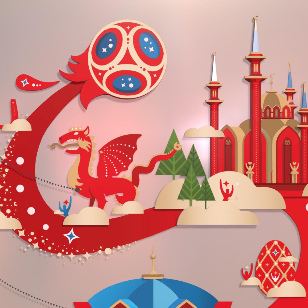 official world cup 2018 russia host city kazan 3d model max fbx jpeg jpg ma mb obj 270703