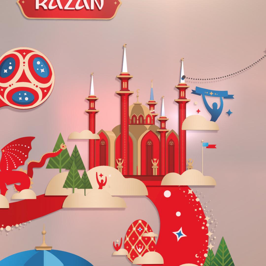official world cup 2018 russia host city kazan 3d model max fbx jpeg jpg ma mb obj 270705