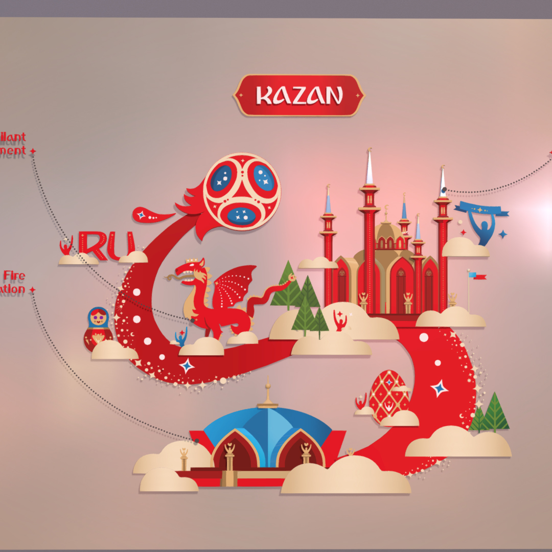 official world cup 2018 russia host city kazan 3d model max fbx jpeg jpg ma mb obj 270708