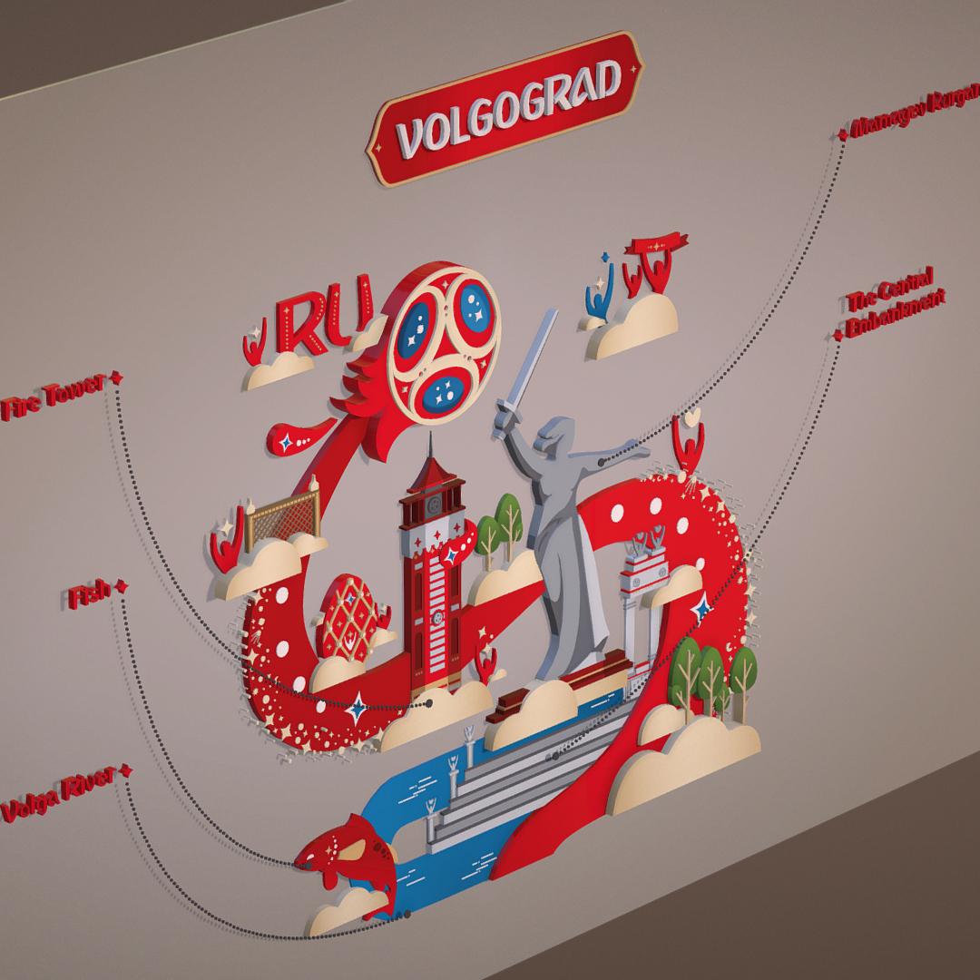 world cup 2018 russia host city volgograd 3d model max fbx jpeg jpg ma mb obj 270768