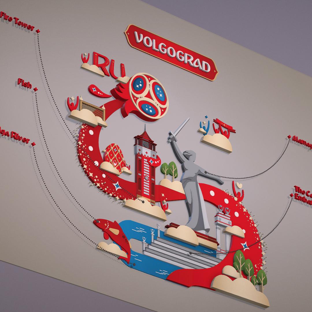 world cup 2018 russia host city volgograd 3d model max fbx jpeg jpg ma mb obj 270770