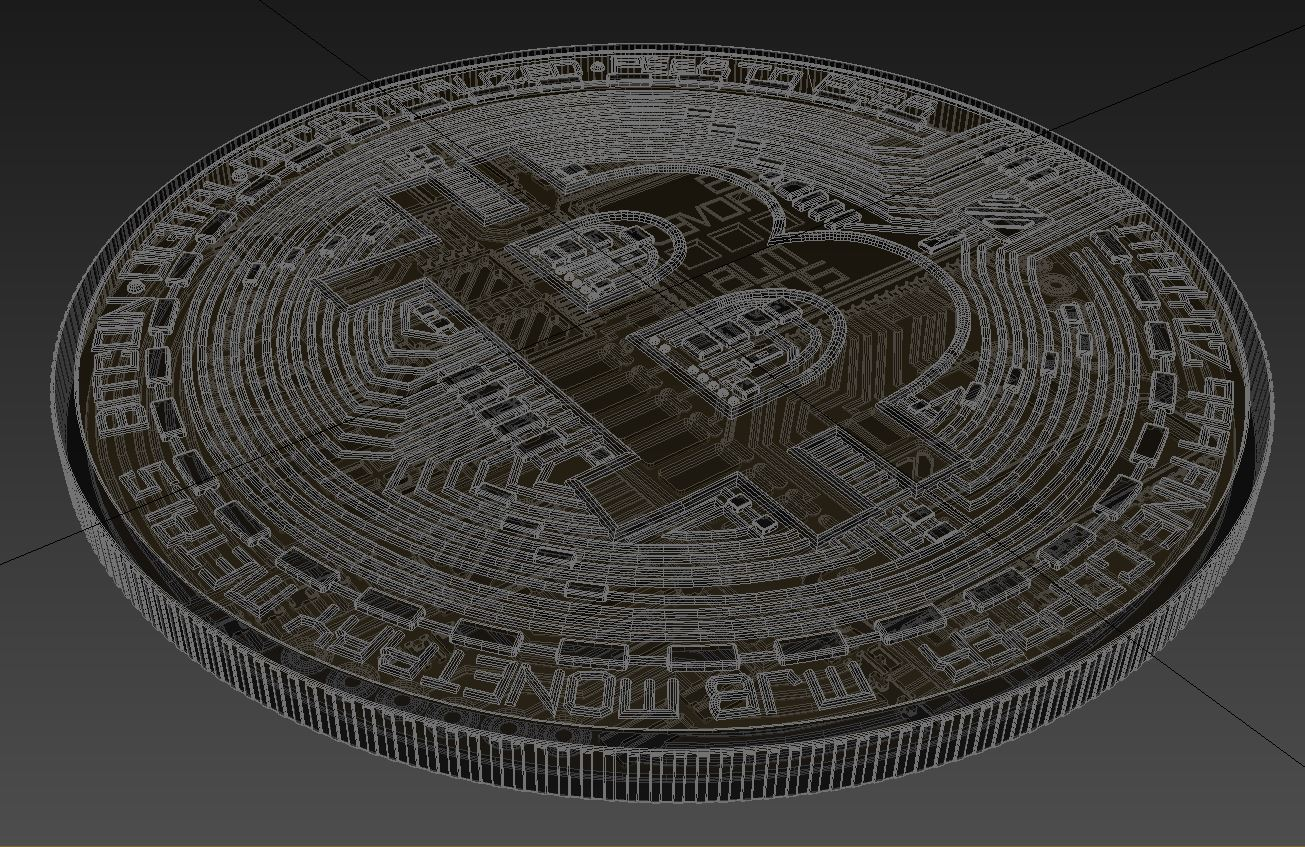 bitcoin 3d model max 270812