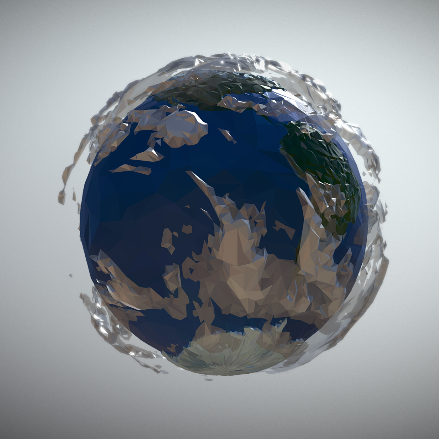 animated planet earth 3d model 3ds max fbx ma mb tga targa icb vda vst pix obj 271041