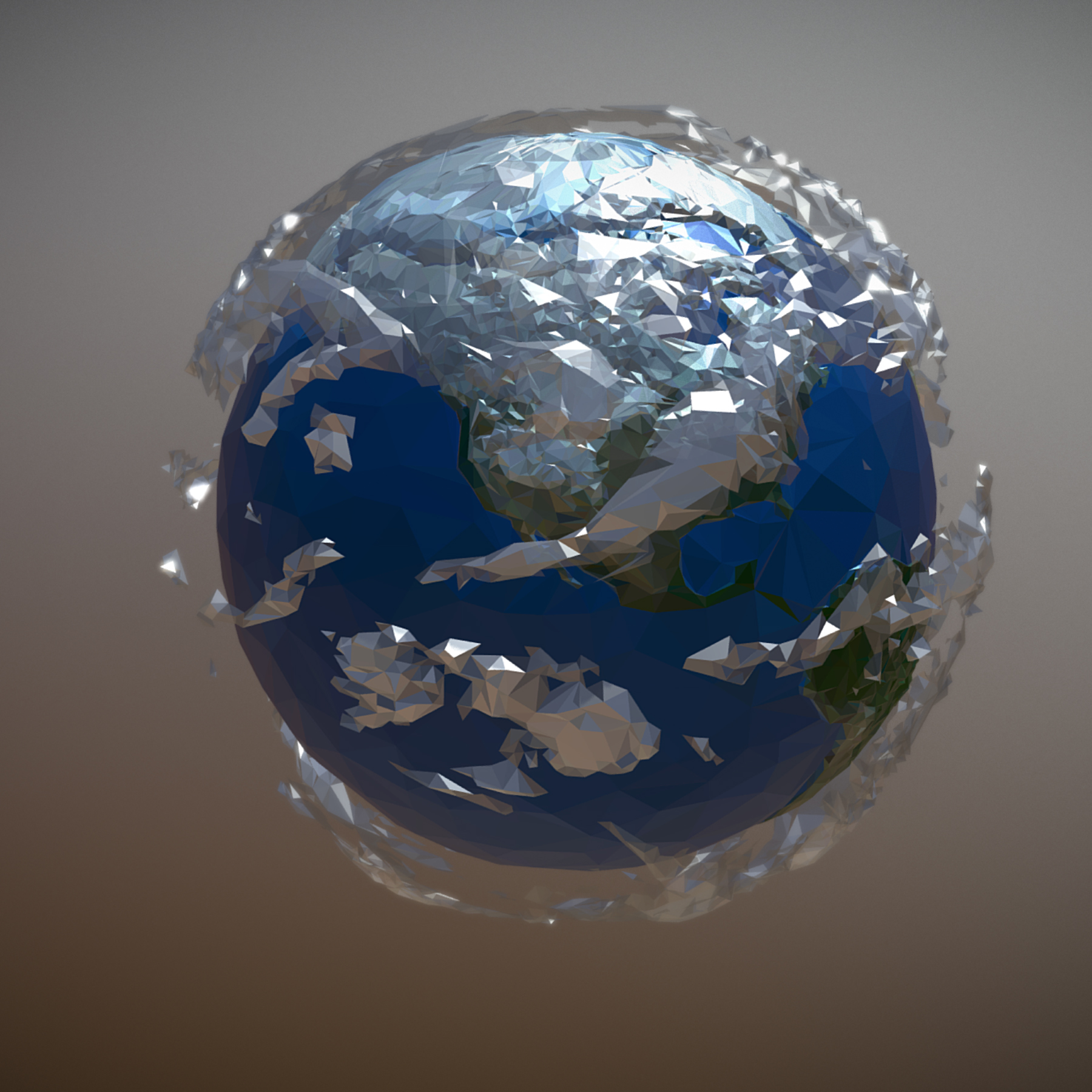 animated planet earth 3d model 3ds max fbx ma mb tga targa icb vda vst pix obj 271042