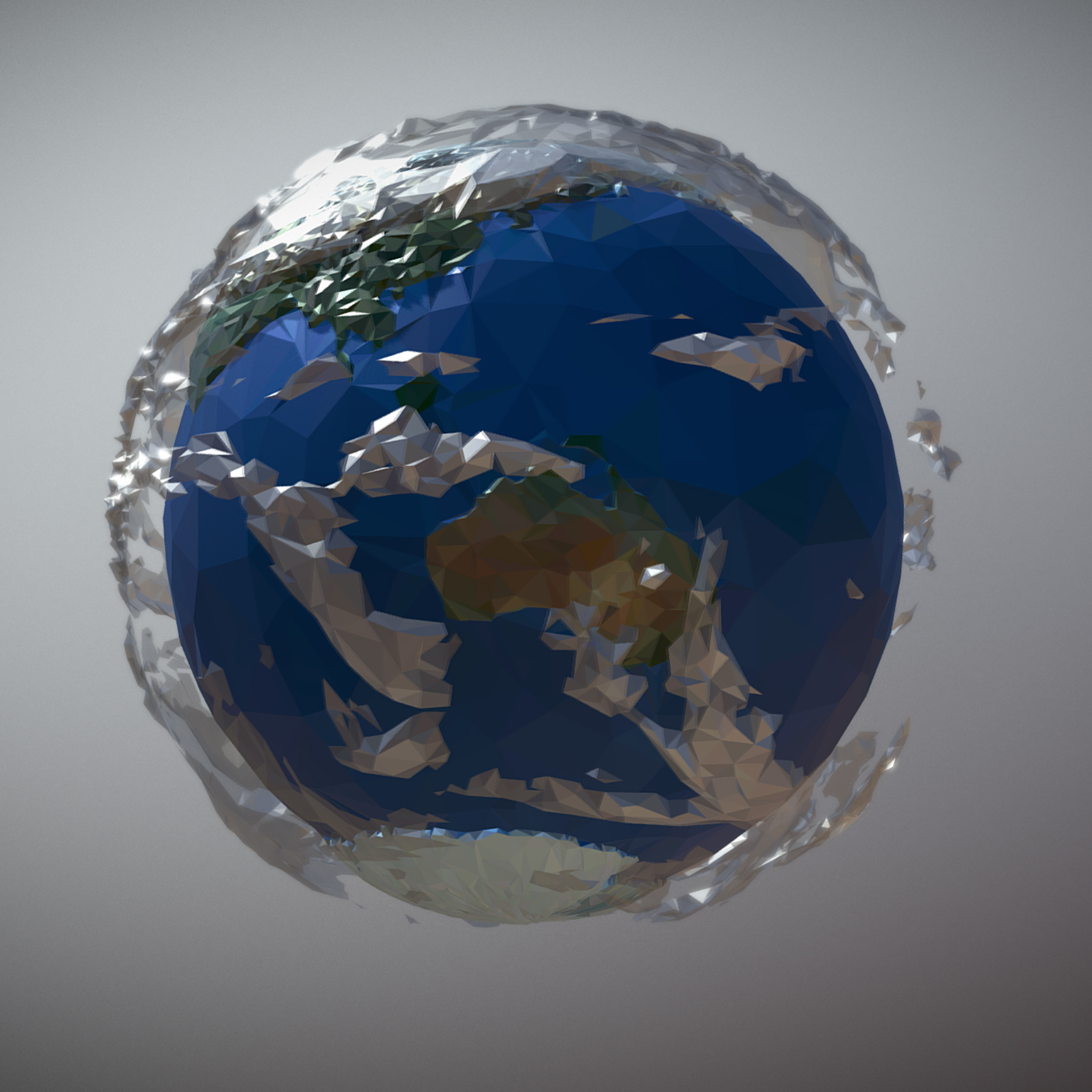 animated planet earth 3d model 3ds max fbx ma mb tga targa icb vda vst pix obj 271044