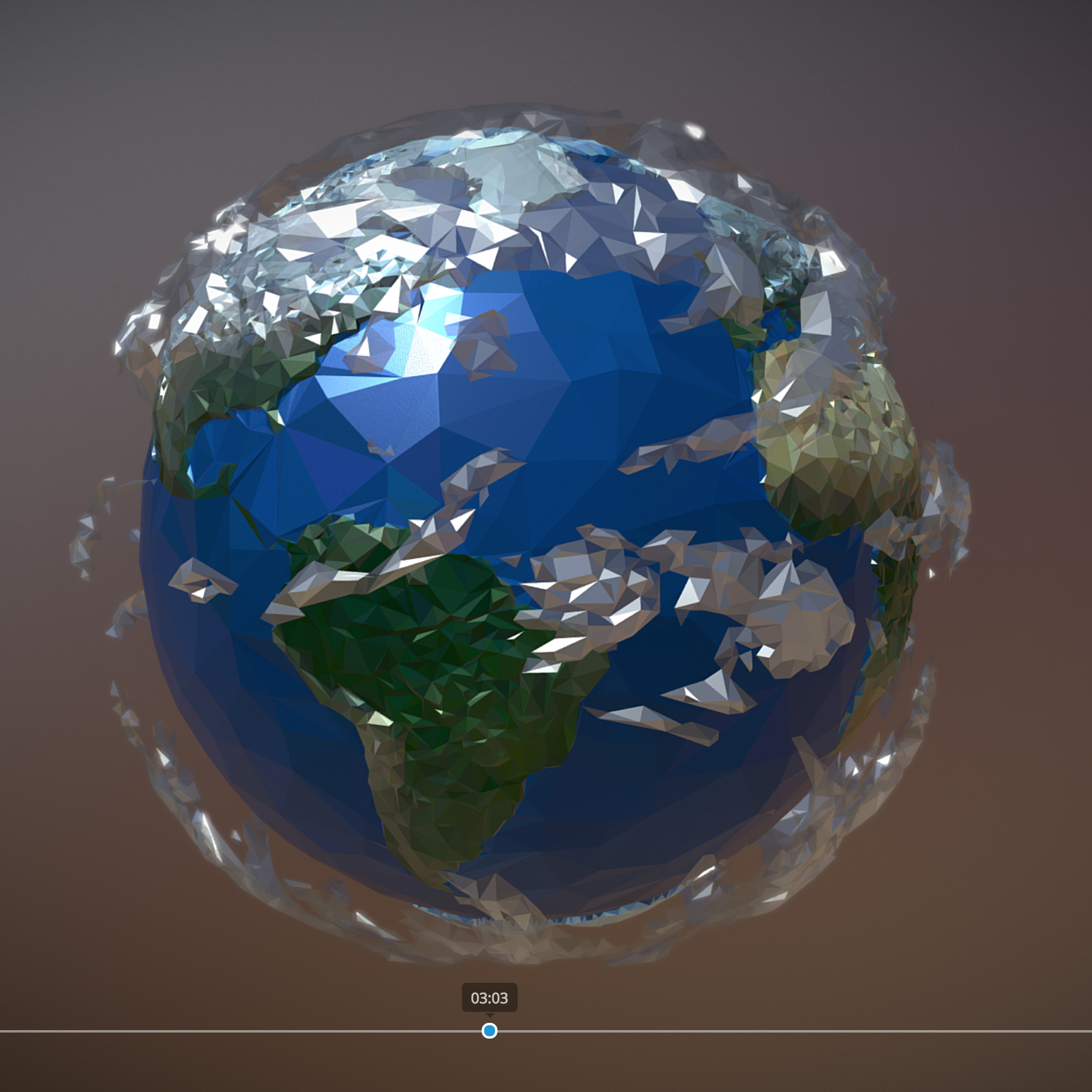 animated planet earth 3d model 3ds max fbx ma mb tga targa icb vda vst pix obj 271049