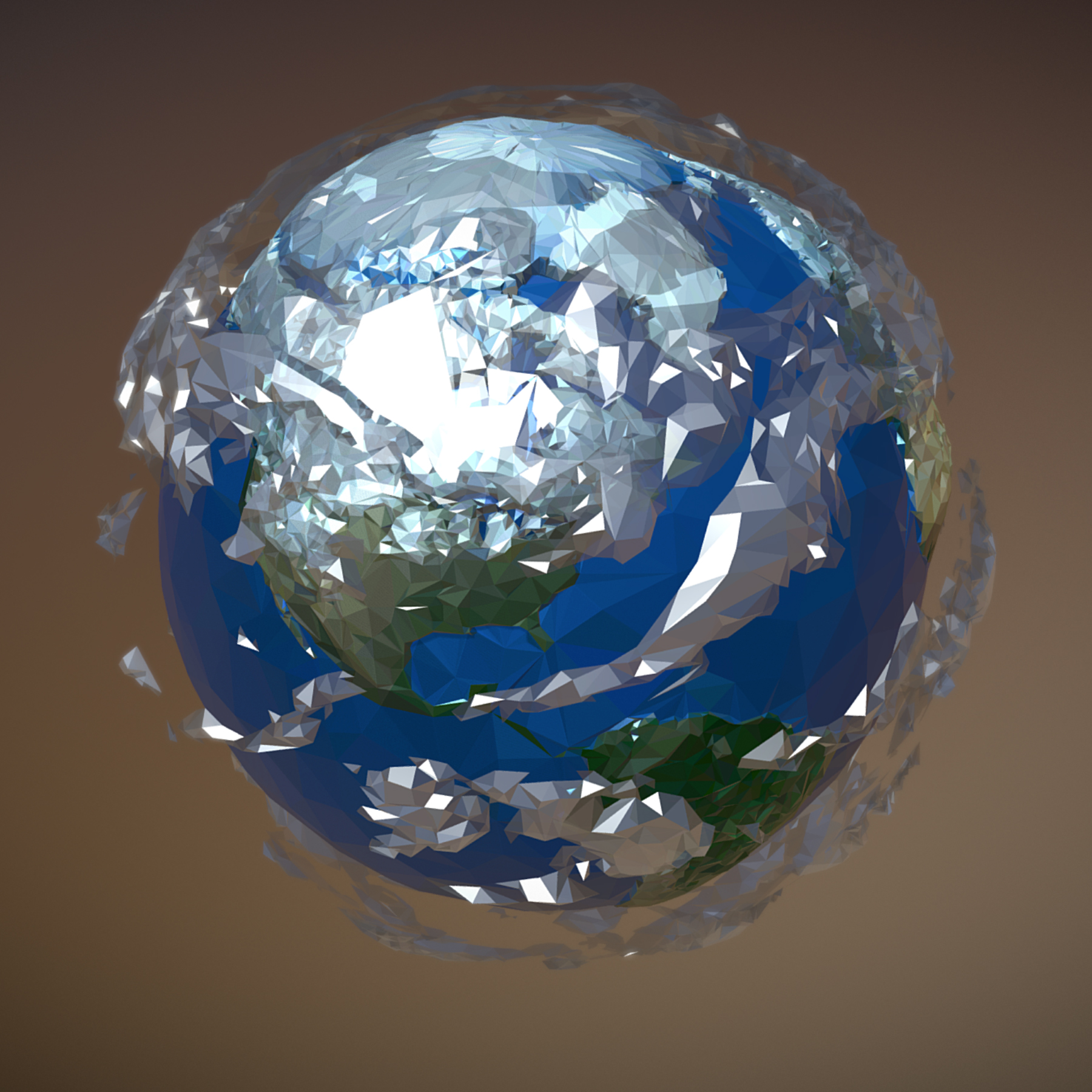 animated planet earth 3d model 3ds max fbx ma mb tga targa icb vda vst pix obj 271050