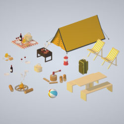 objects recreation tourism cooking BBQ steak 3d model 3d printing augmented reality augmented reality ready game ready games high poly low poly render ready virtual reality vr ecards 3ds max fbx ma mb png obj