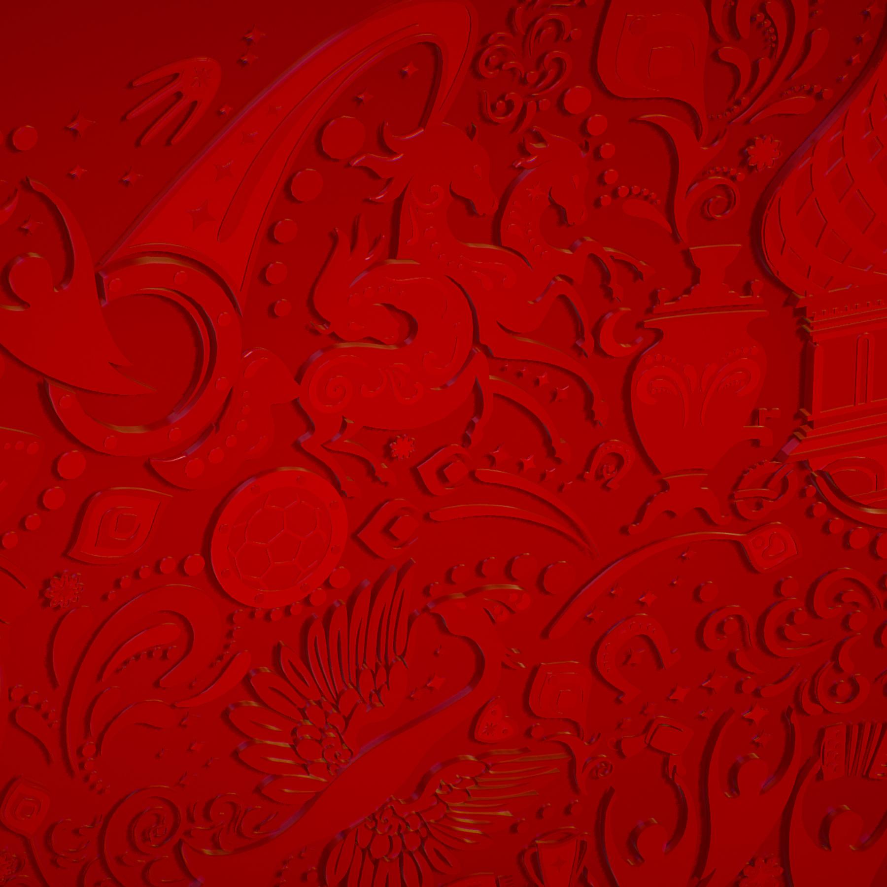 russian geometric tile ornament decoration red 3d model max fbx jpeg jpg ma mb obj 271199