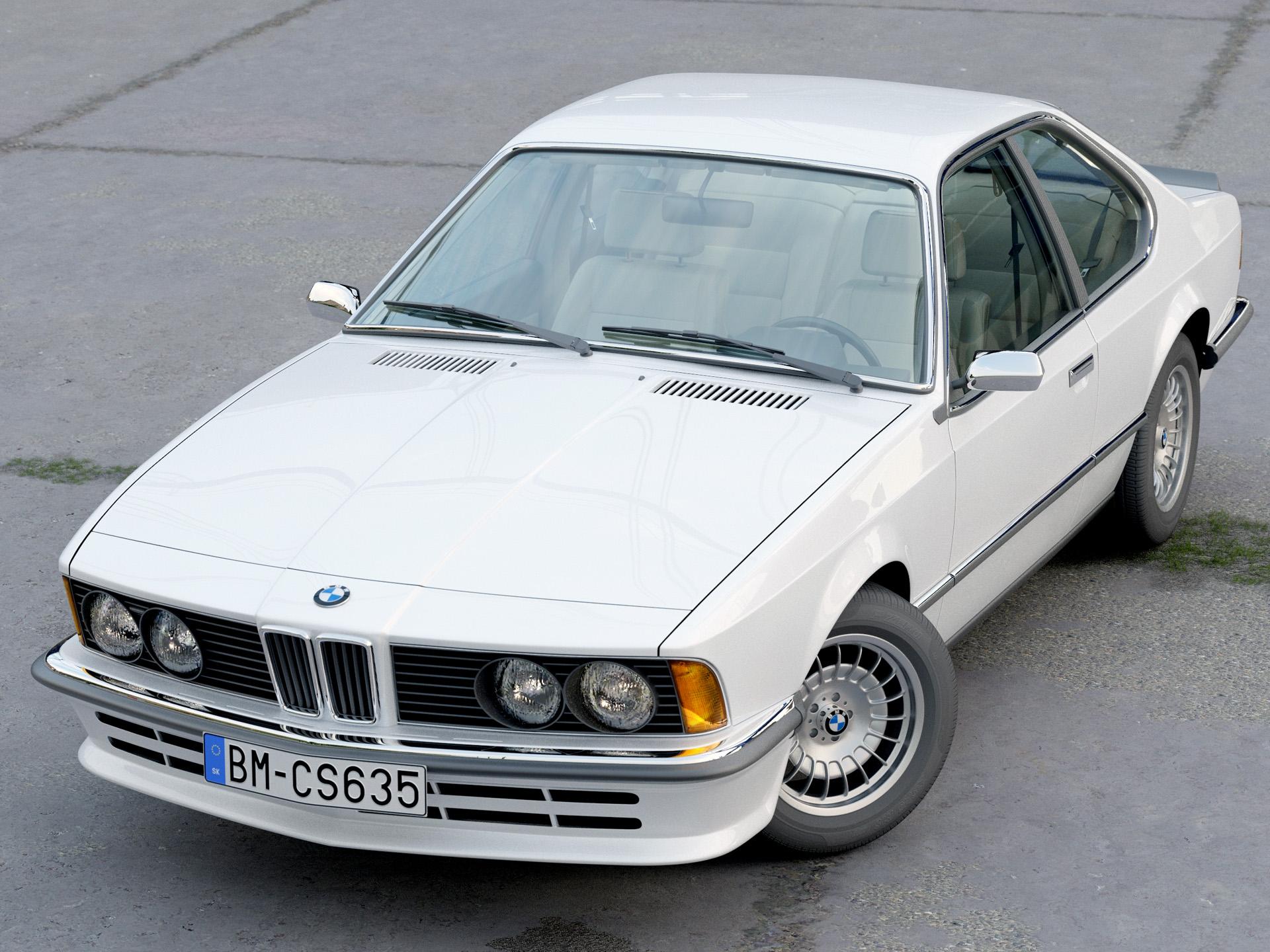BMW 6 series E24 1986 3d model 3ds max fbx c4d obj 271318