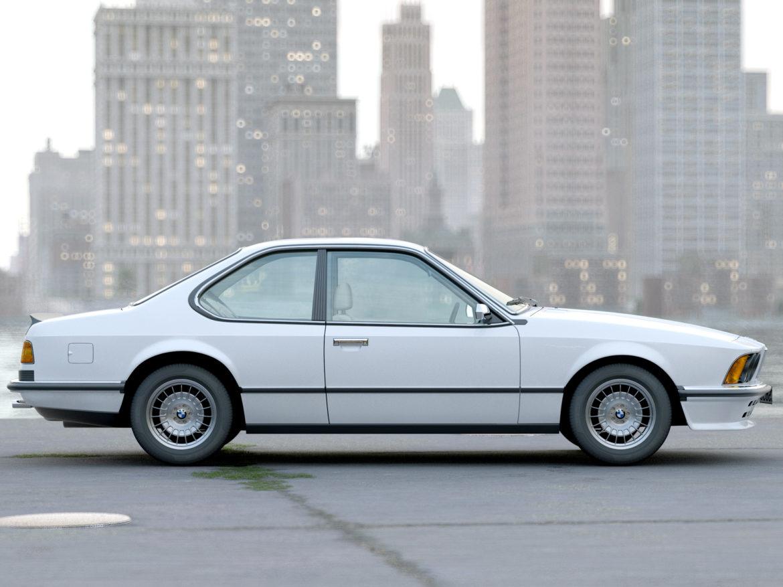 e24 6 series coupe 1986 3d model 3ds max fbx c4d obj 271321