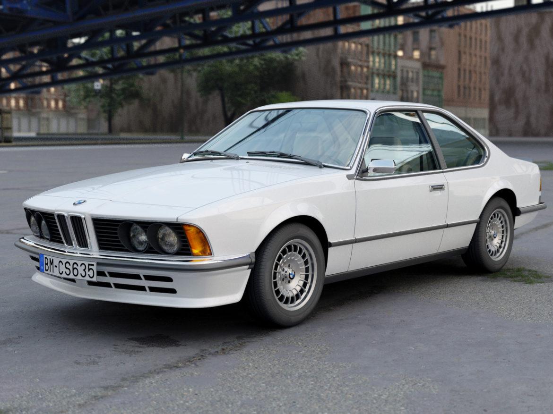 e24 6 series coupe 1986 3d model 3ds max fbx c4d obj 271323