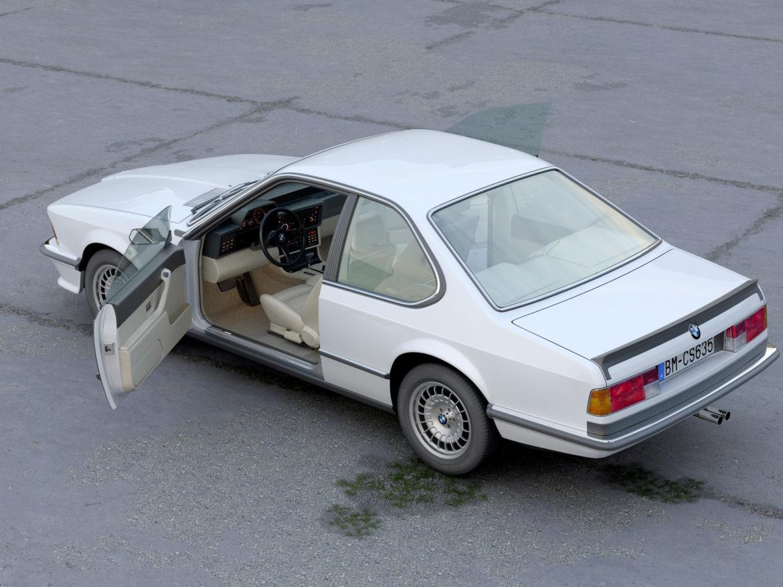 e24 6 series coupe 1986 3d model 3ds max fbx c4d obj 271324