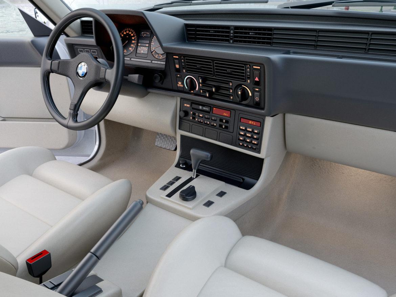 e24 6 series coupe 1986 3d model 3ds max fbx c4d obj 271327