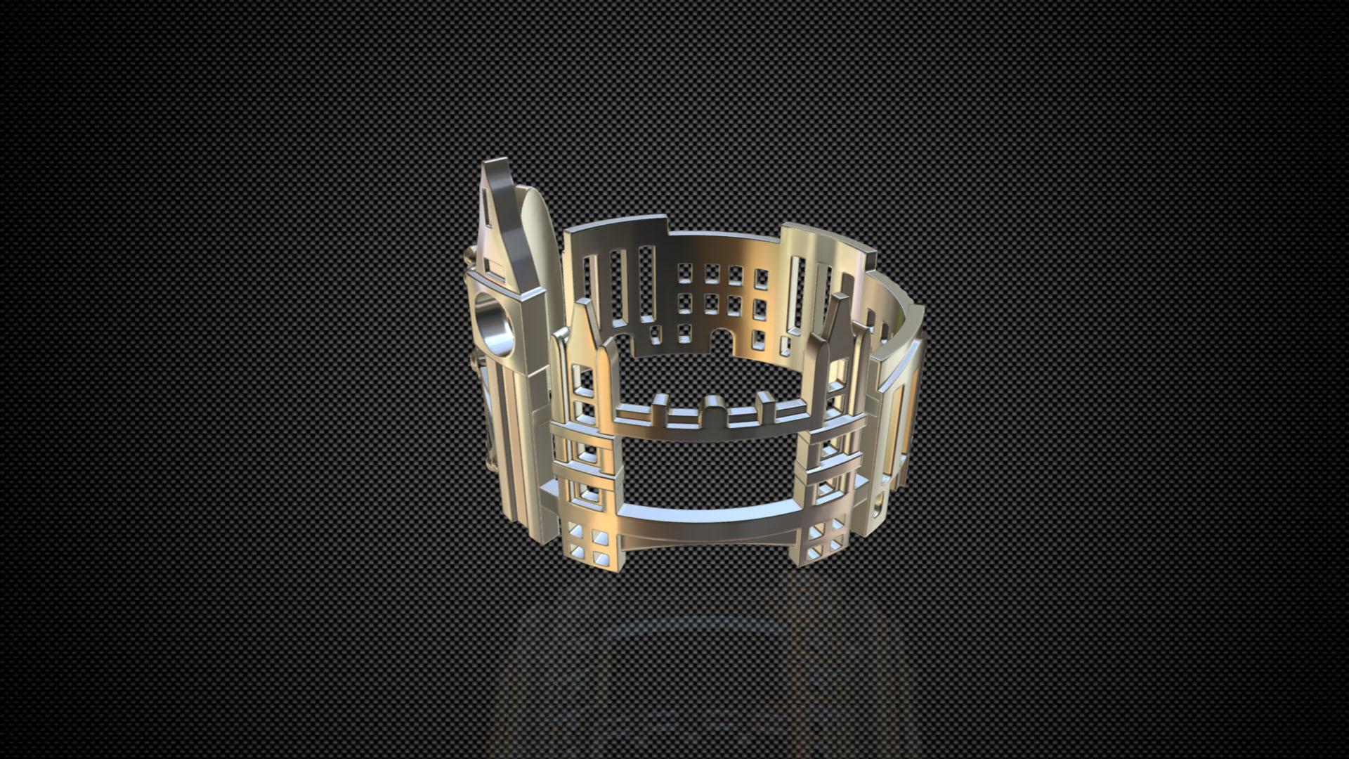 cityscape design ring london 3d model 3ds fbx c4d lwo ma mb 3dm hrc xsi  obj 271341