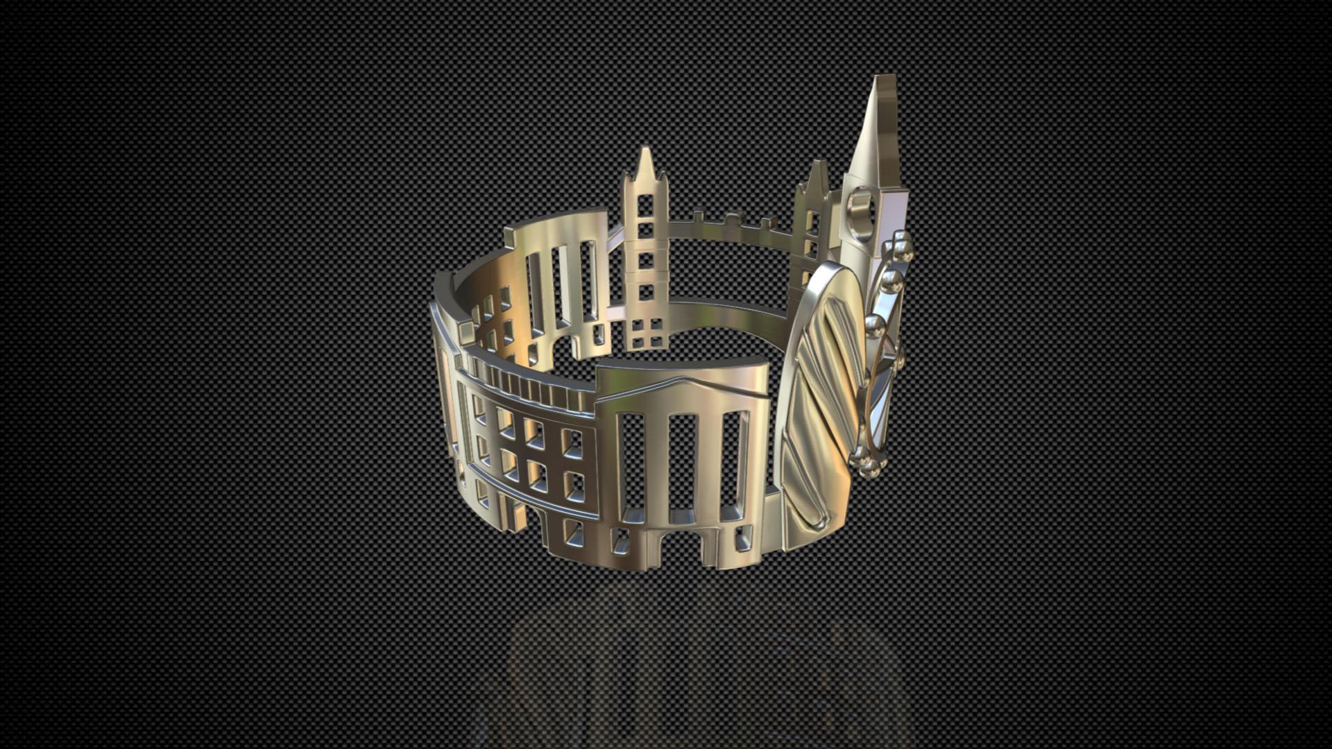 cityscape design ring london 3d model 3ds fbx c4d lwo ma mb 3dm hrc xsi  obj 271343