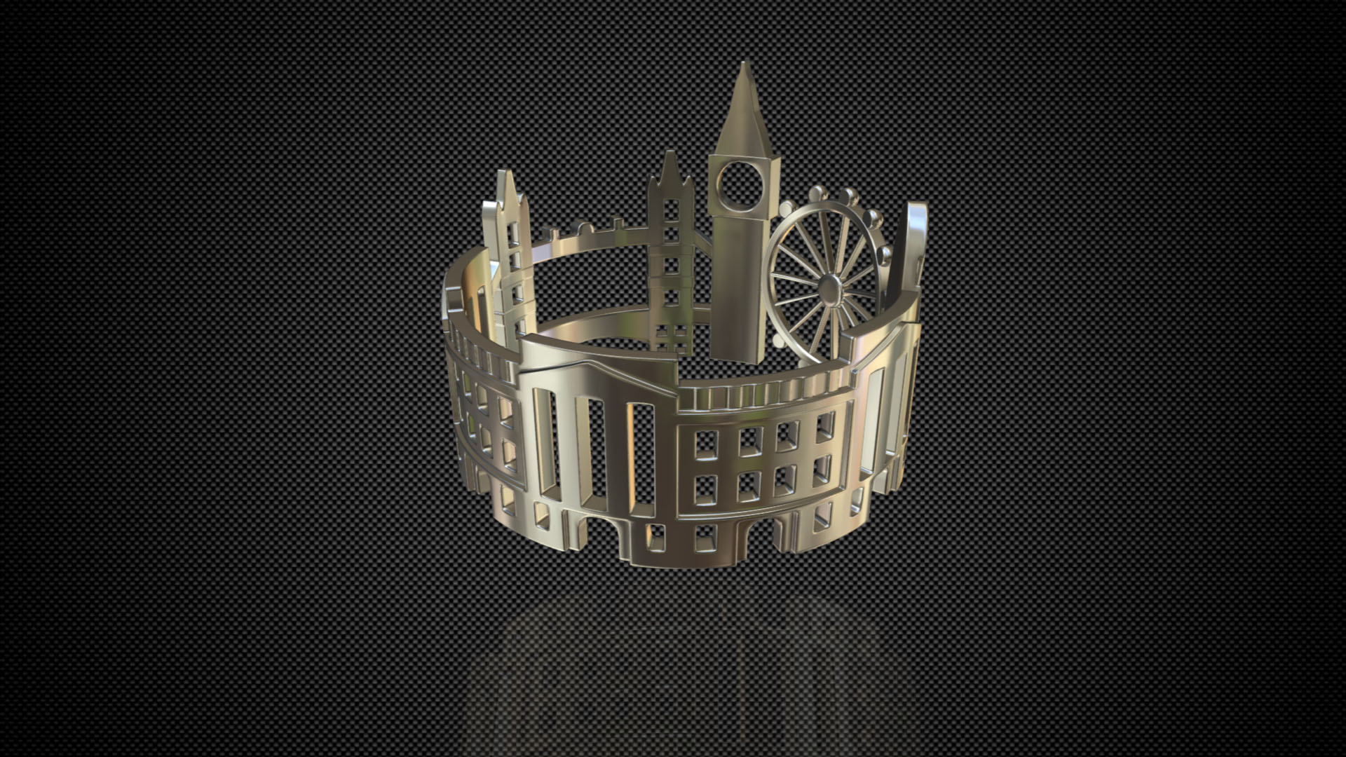 cityscape design ring london 3d model 3ds fbx c4d lwo ma mb 3dm hrc xsi  obj 271344