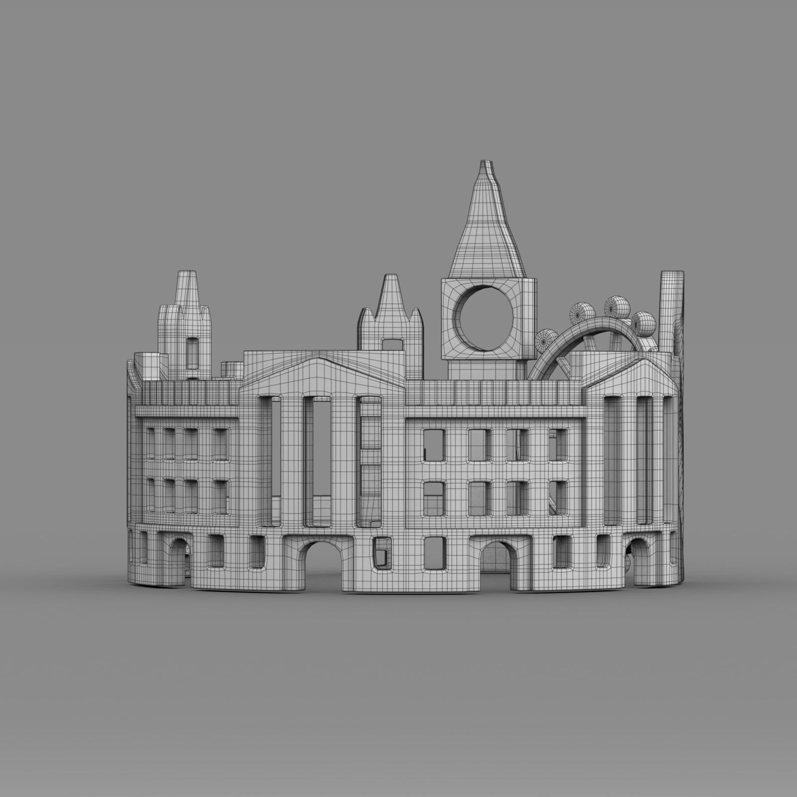 cityscape design ring london 3d model 3ds fbx c4d lwo ma mb 3dm hrc xsi  obj 271351