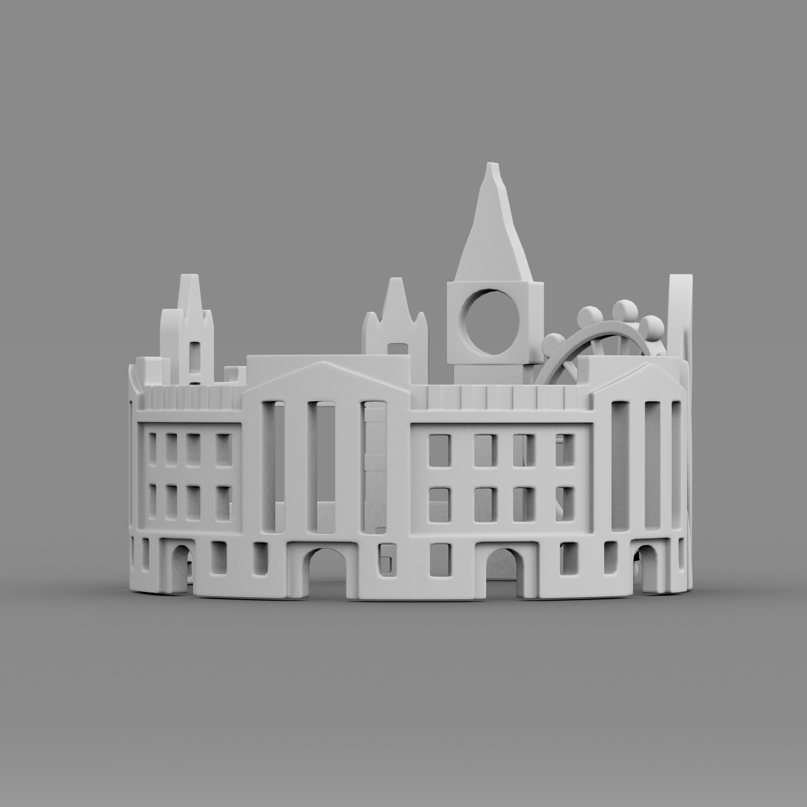 cityscape design ring london 3d model 3ds fbx c4d lwo ma mb 3dm hrc xsi  obj 271352