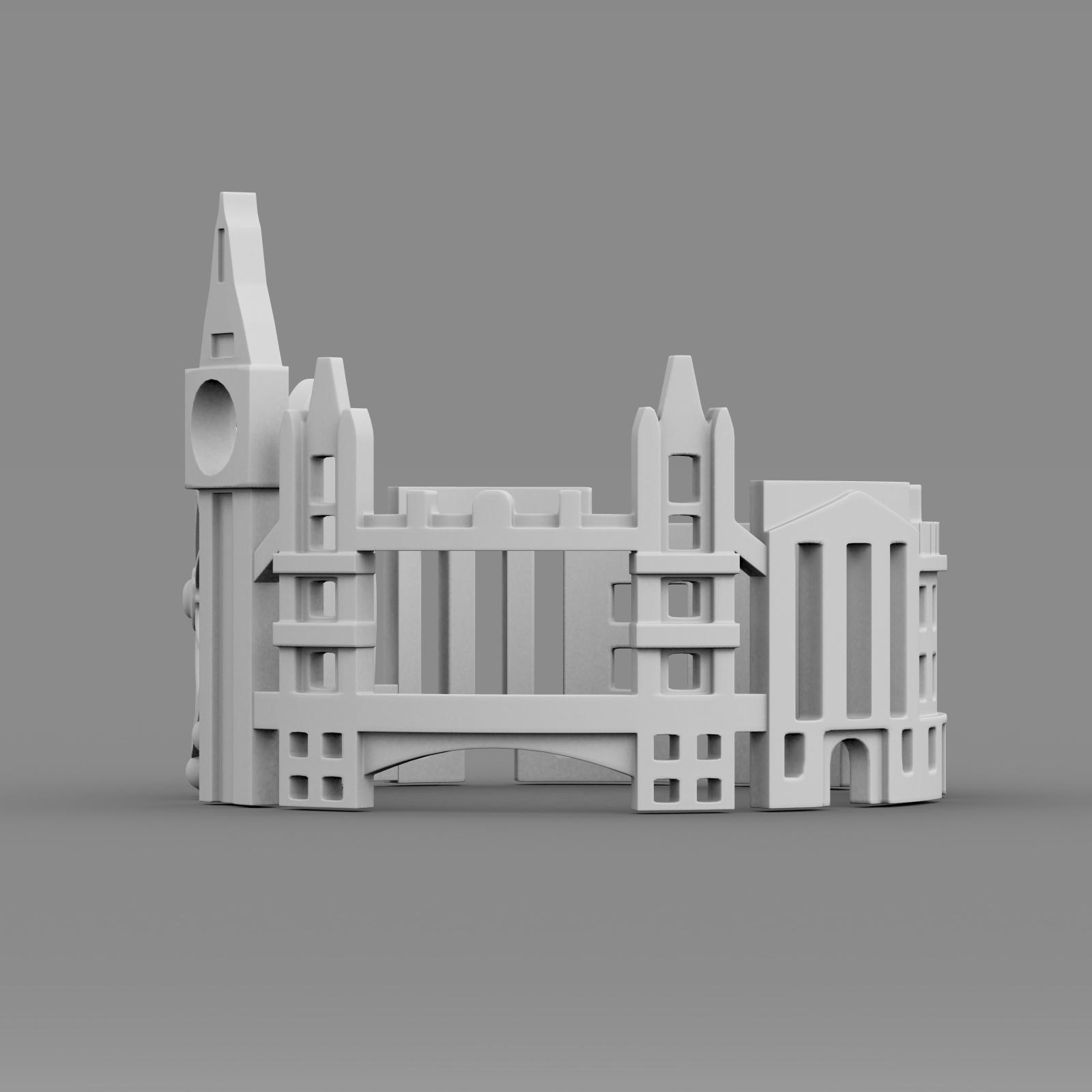cityscape design ring london 3d model 3ds fbx c4d lwo ma mb 3dm hrc xsi  obj 271353