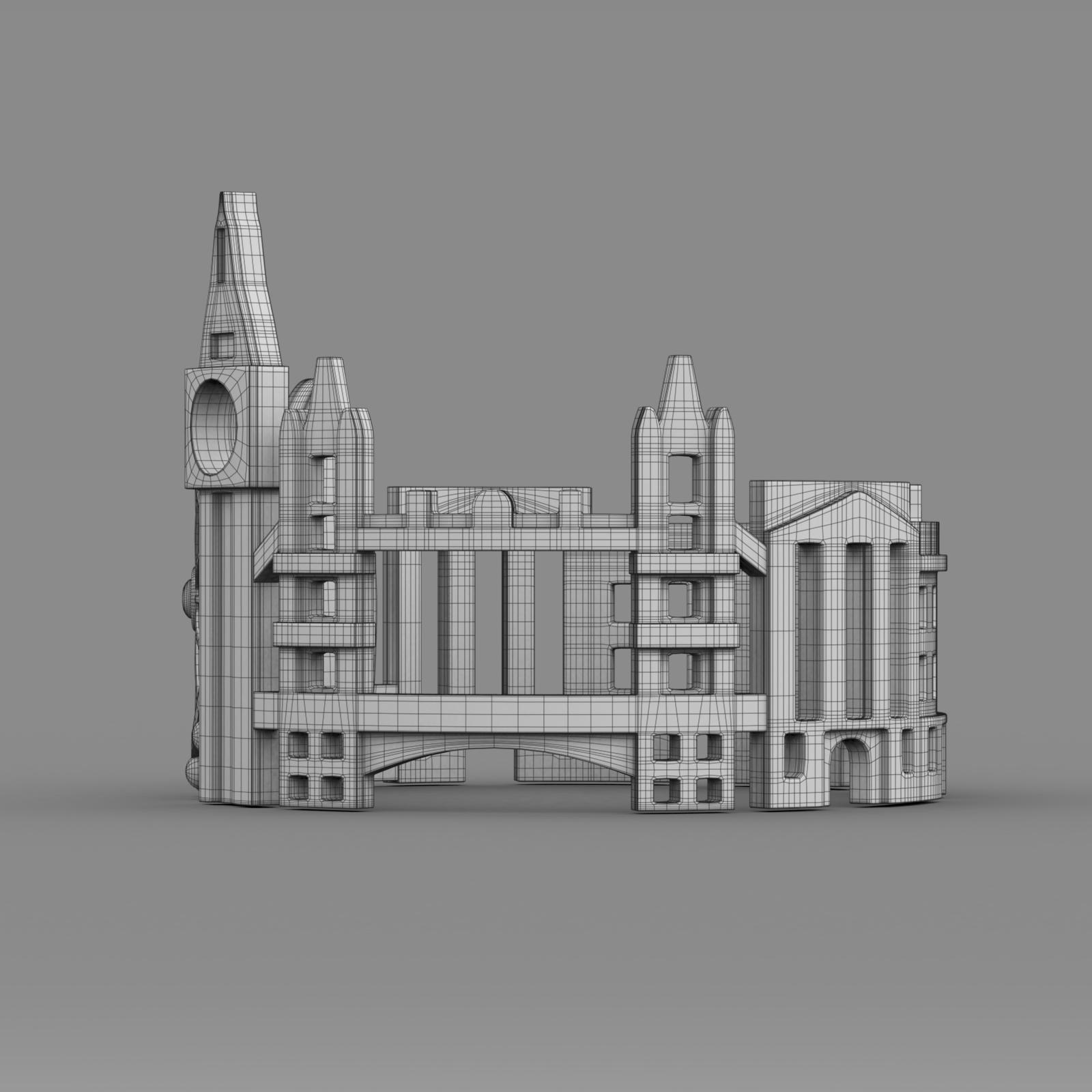 cityscape design ring london 3d model 3ds fbx c4d lwo ma mb 3dm hrc xsi  obj 271354
