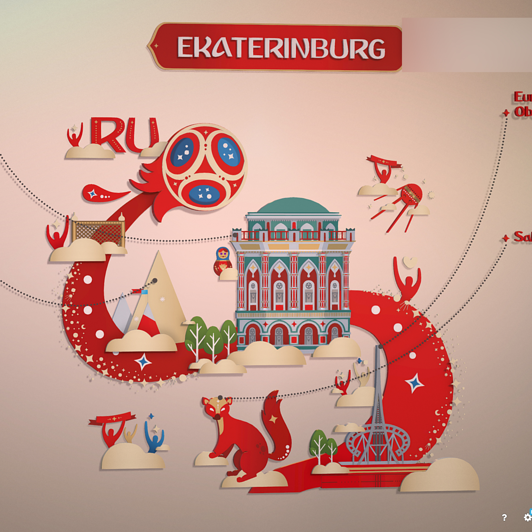fifa wold cup 2018 rusija domaćin grad ekaterinburg 3d model max fbx jpeg jpg ma mb obj 271358