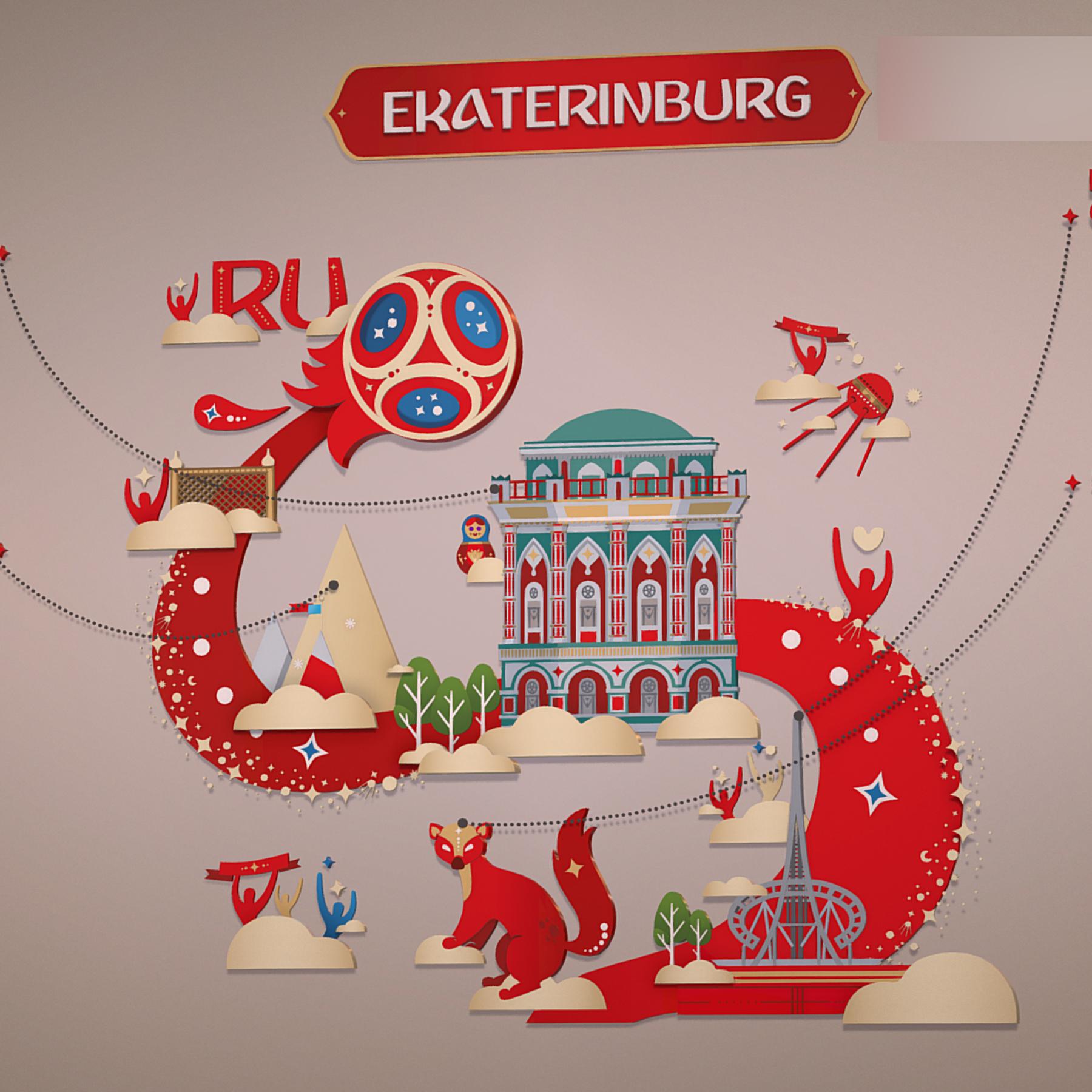 fifa wold cup 2018 russia host city ekaterinburg 3d model max  fbx jpeg jpg ma mb obj 271359