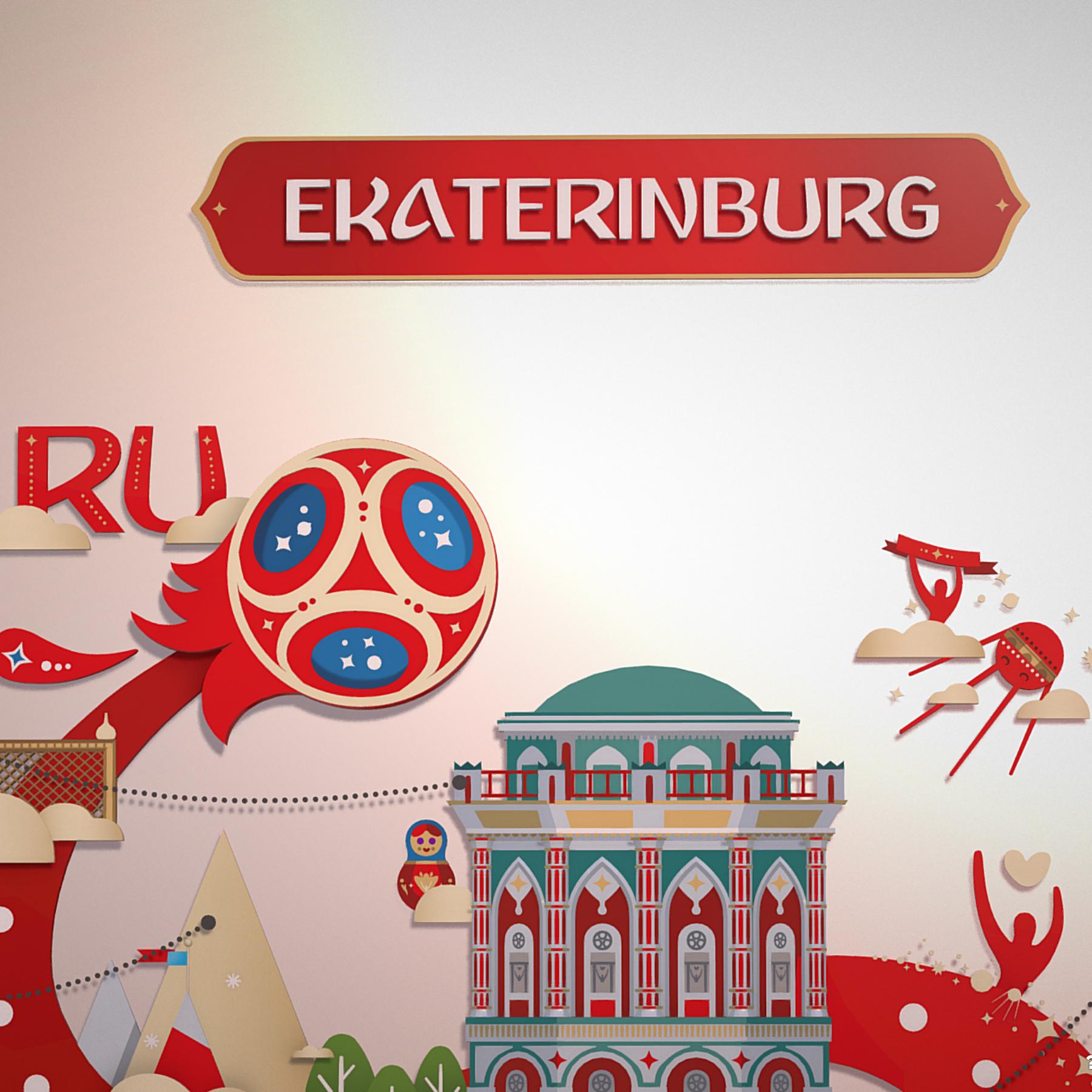 fifa wold cup 2018 russia host city ekaterinburg 3d model max  fbx jpeg jpg ma mb obj 271367