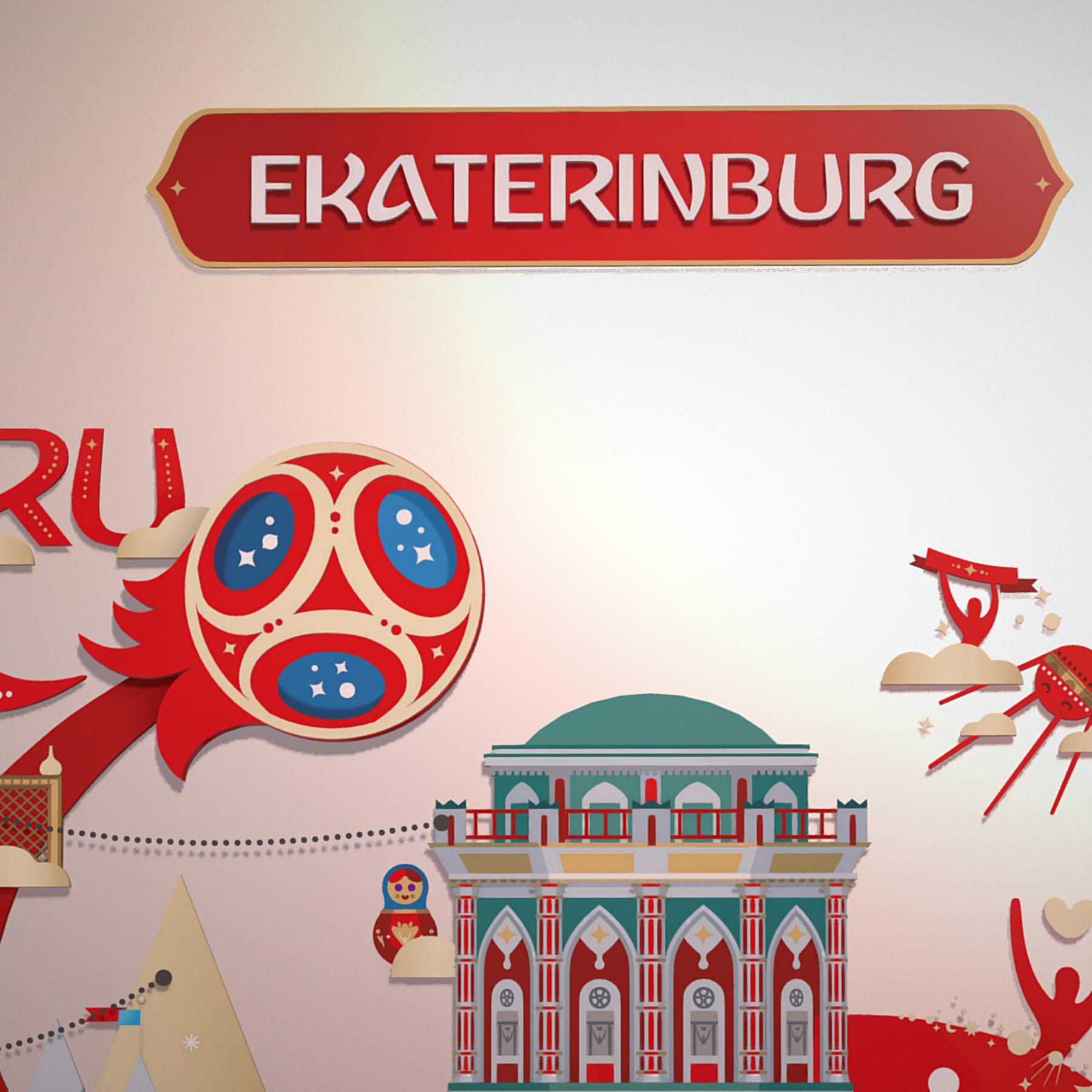 fifa wold cup 2018 russia host city ekaterinburg 3d model max  fbx jpeg jpg ma mb obj 271371