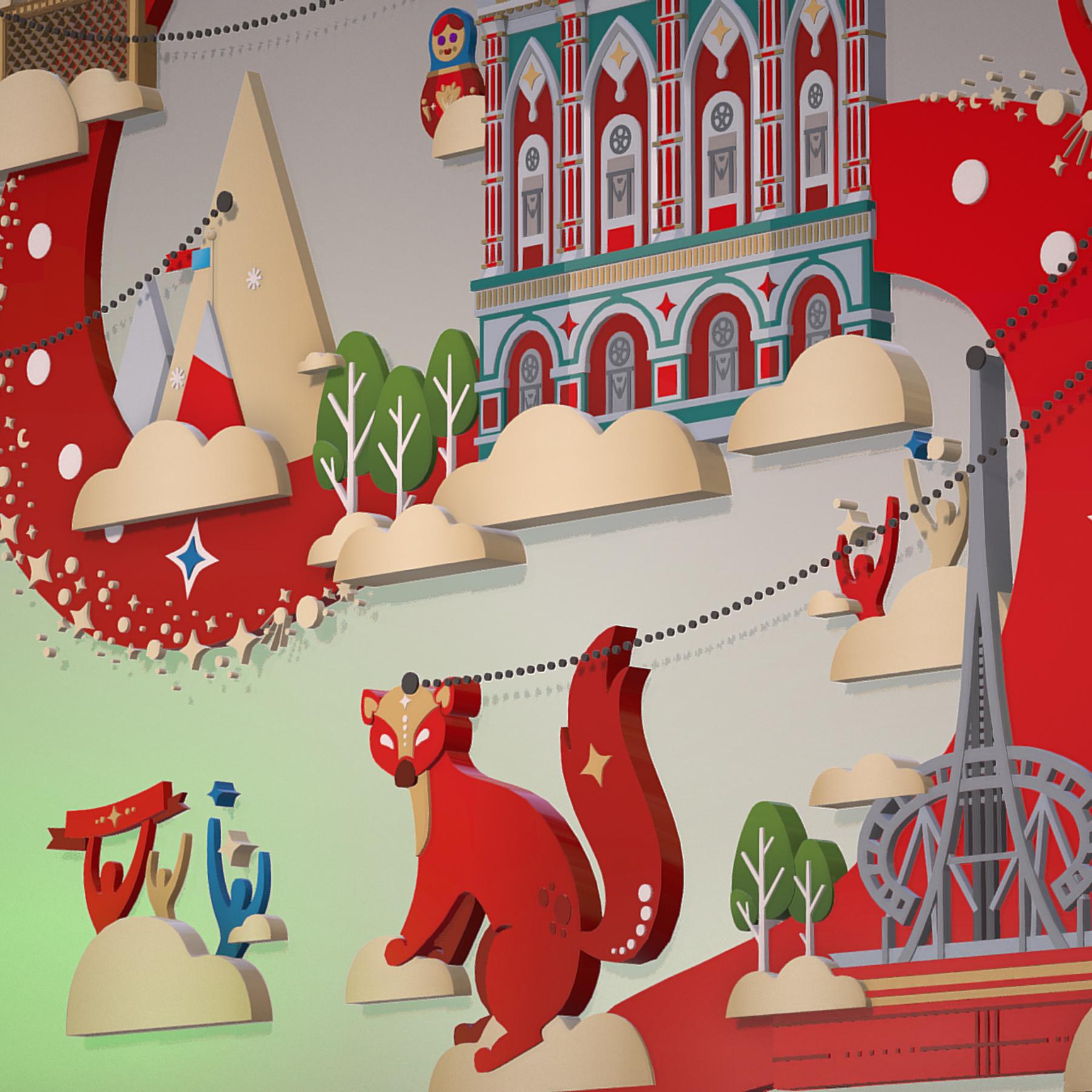 fifa wold cup 2018 russia host city ekaterinburg 3d model max  fbx jpeg jpg ma mb obj 271377