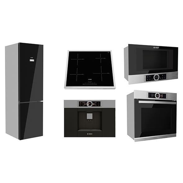 Kitchen Appliances Bosch 3D model 3d model max 271529