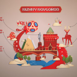 World Cup 2018 Russia host city NOVGOROD 3d model 0