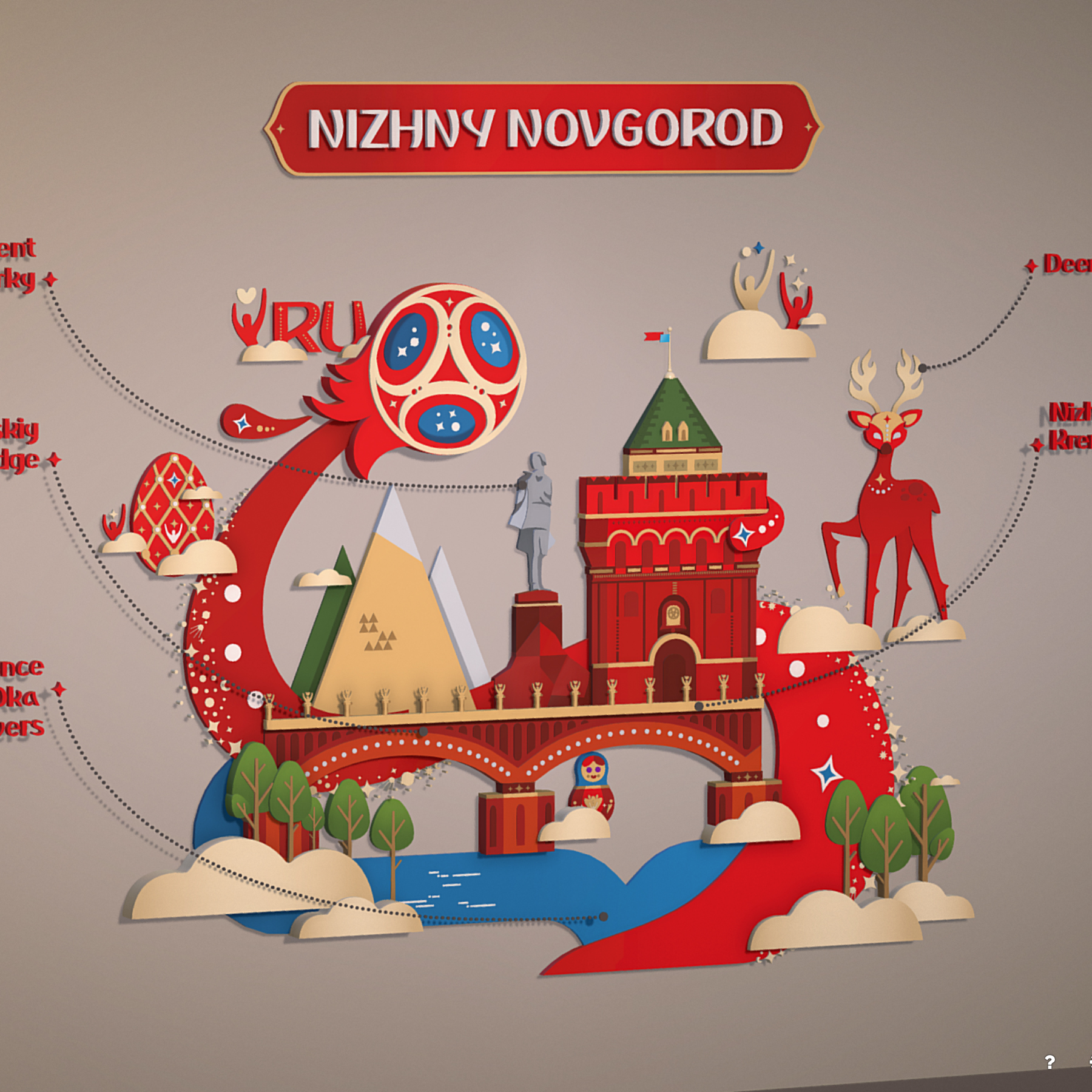 world cup 2018 russia host city novgorod 3d model max  fbx jpeg jpg ma mb obj 271565