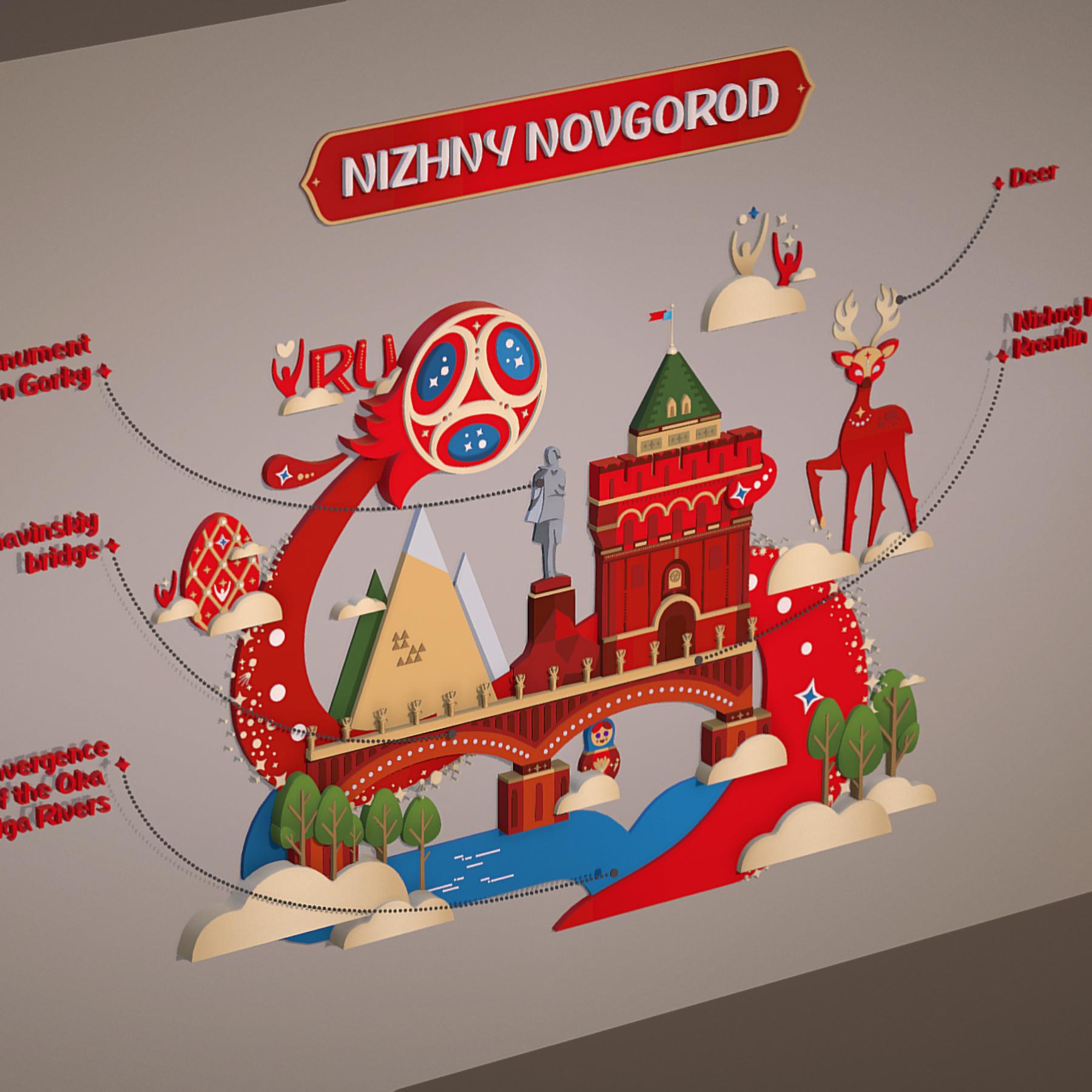 world cup 2018 russia host city novgorod 3d model max  fbx jpeg jpg ma mb obj 271566