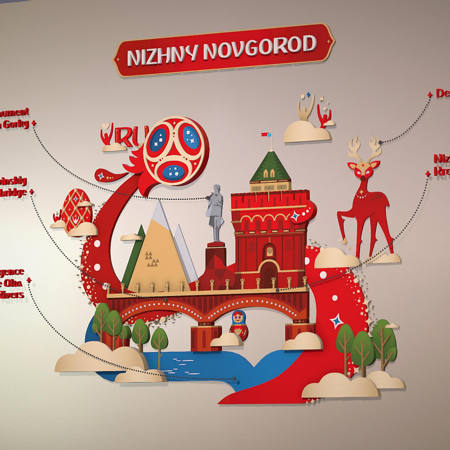 world cup 2018 russia host city novgorod 3d model max  fbx jpeg jpg ma mb obj 271567