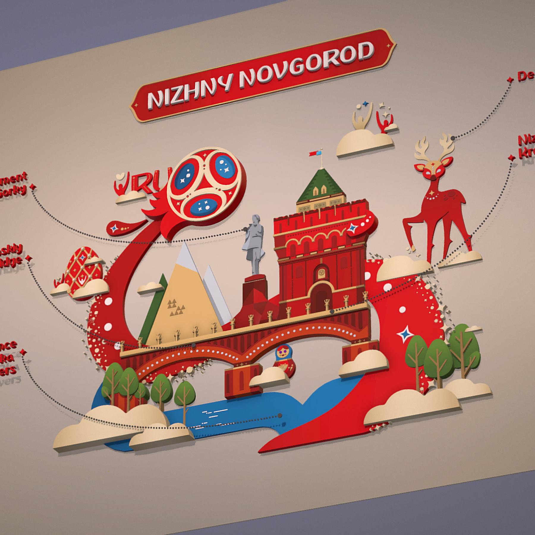 world cup 2018 russia host city novgorod 3d model max  fbx jpeg jpg ma mb obj 271568