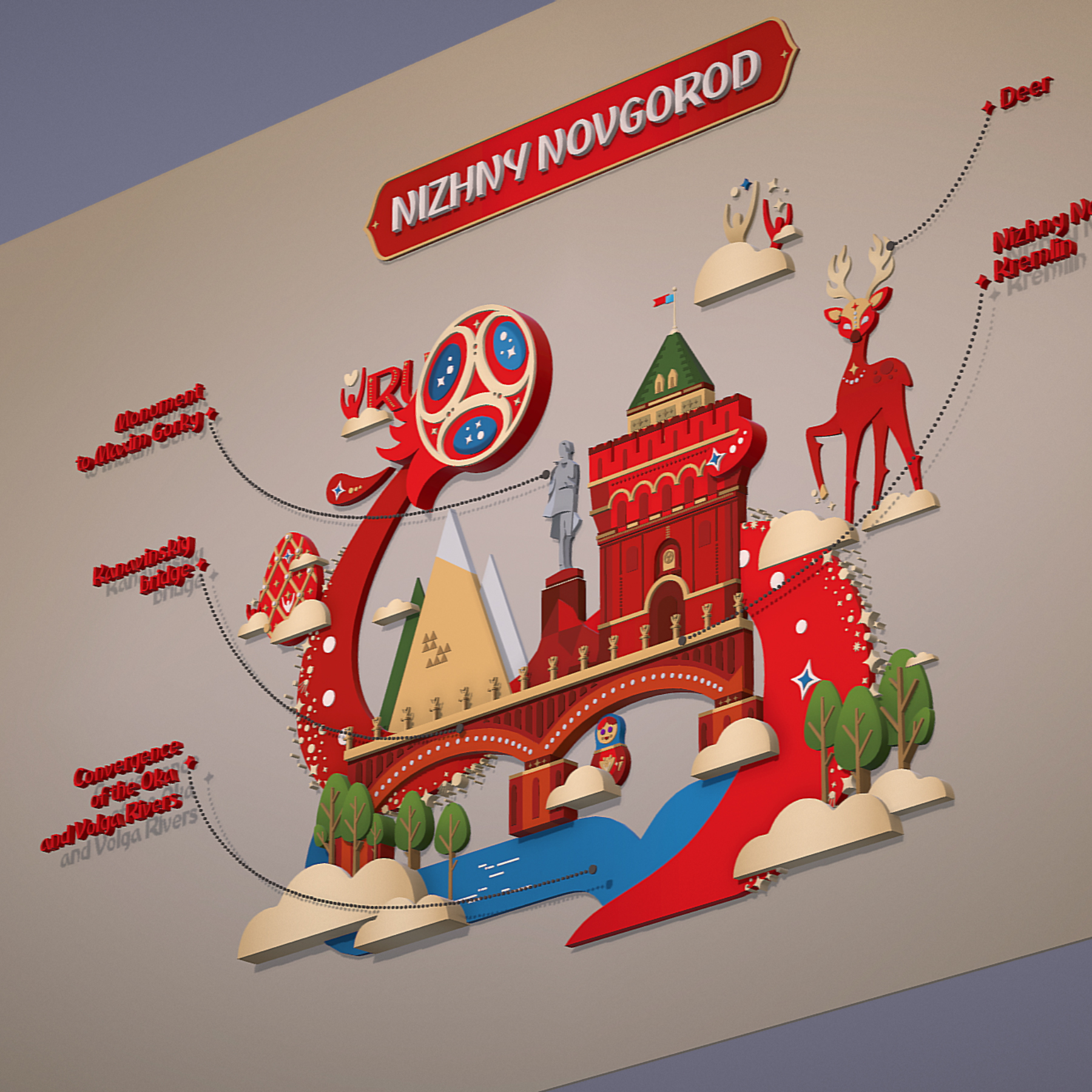 world cup 2018 russia host city novgorod 3d model max  fbx jpeg jpg ma mb obj 271569