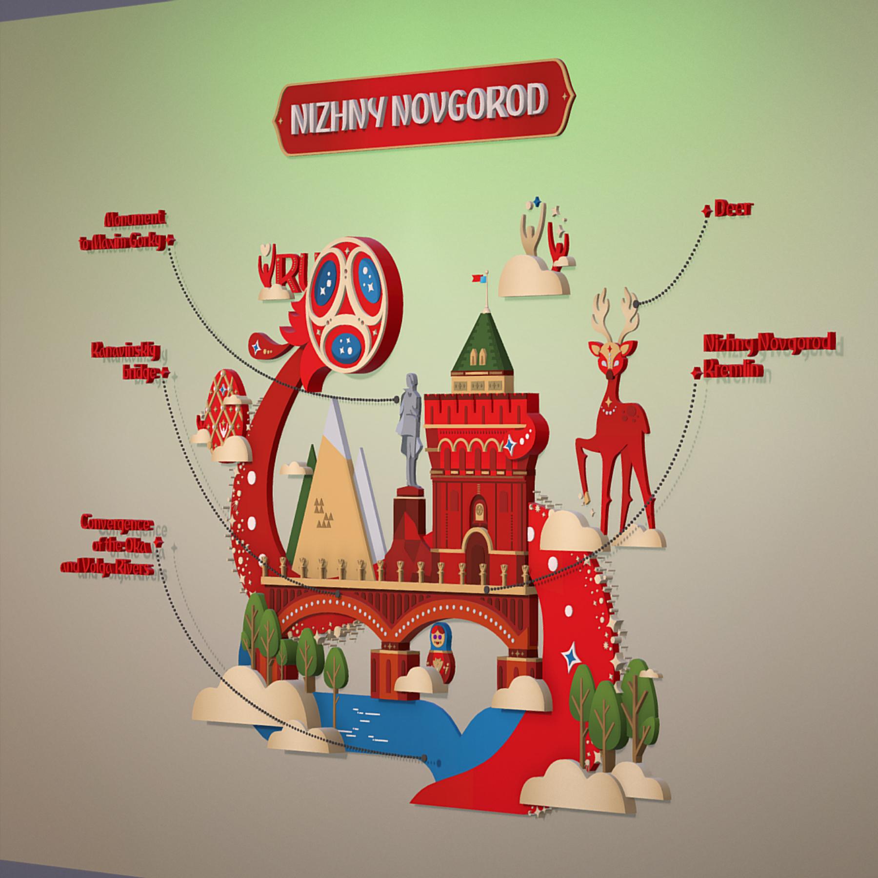 world cup 2018 russia host city novgorod 3d model max  fbx jpeg jpg ma mb obj 271570