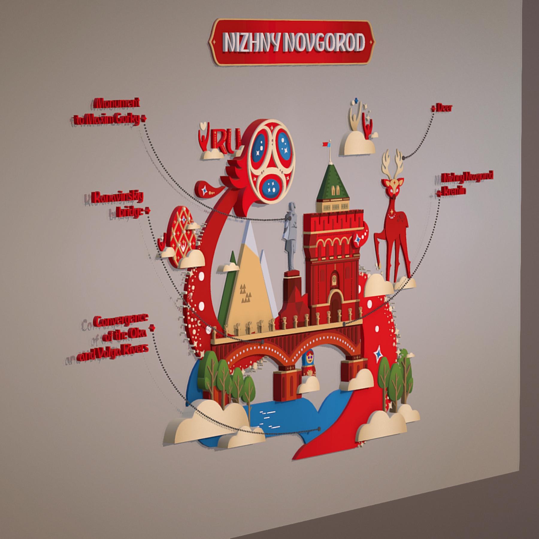 world cup 2018 russia host city novgorod 3d model max  fbx jpeg jpg ma mb obj 271572