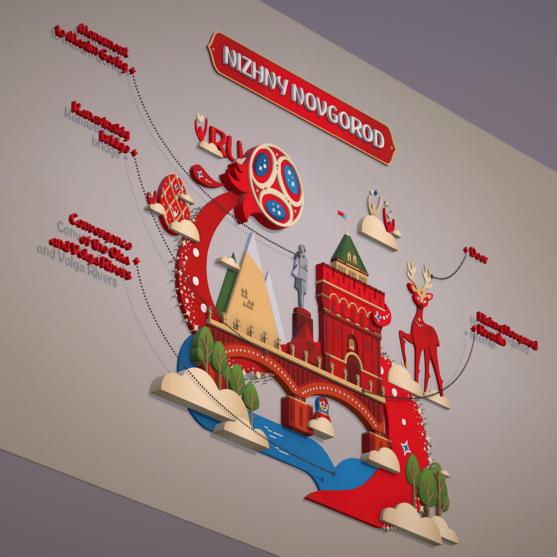 world cup 2018 russia host city novgorod 3d model max  fbx jpeg jpg ma mb obj 271575