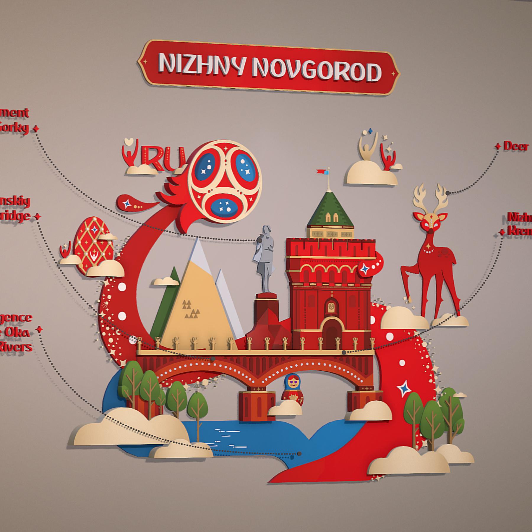world cup 2018 russia host city novgorod 3d model max  fbx jpeg jpg ma mb obj 271576