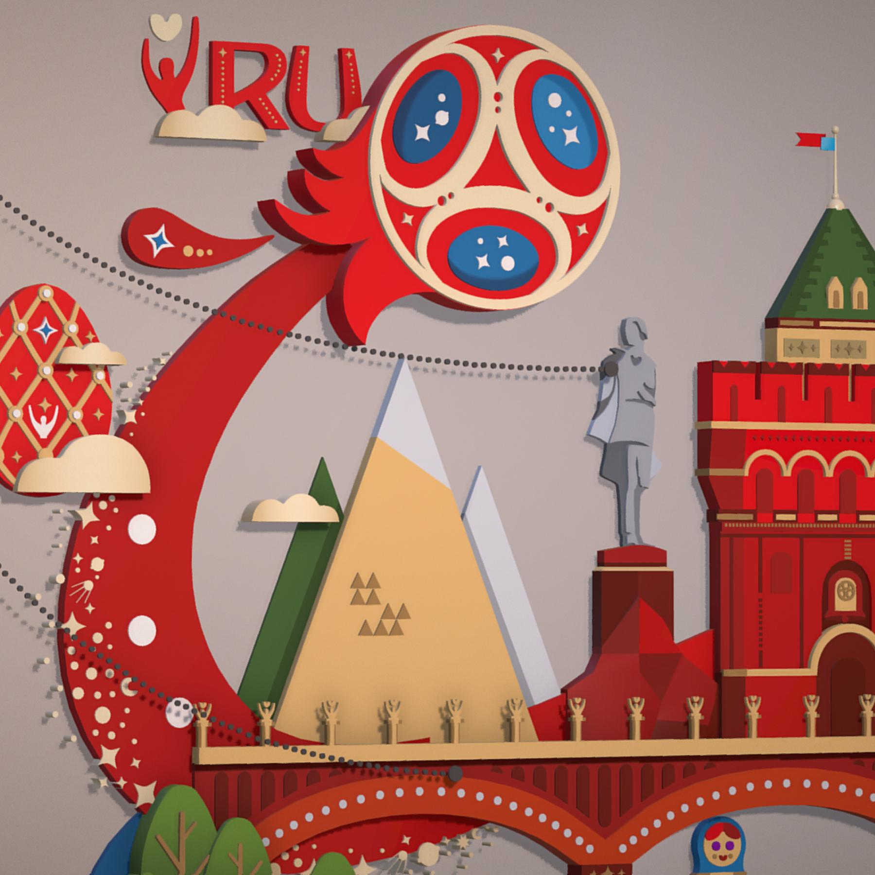 world cup 2018 russia host city novgorod 3d model max  fbx jpeg jpg ma mb obj 271577