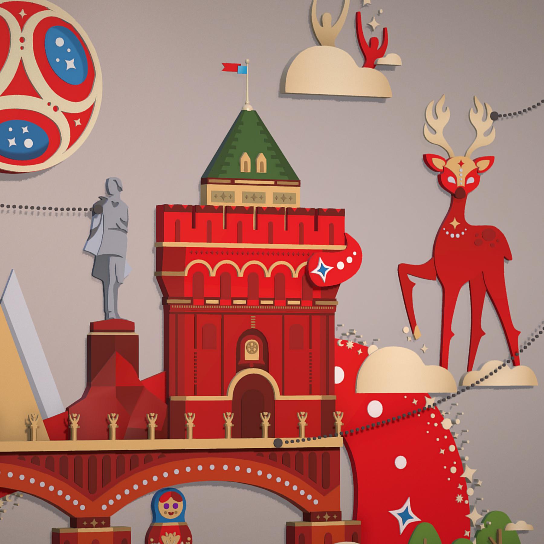 world cup 2018 russia host city novgorod 3d model max  fbx jpeg jpg ma mb obj 271579