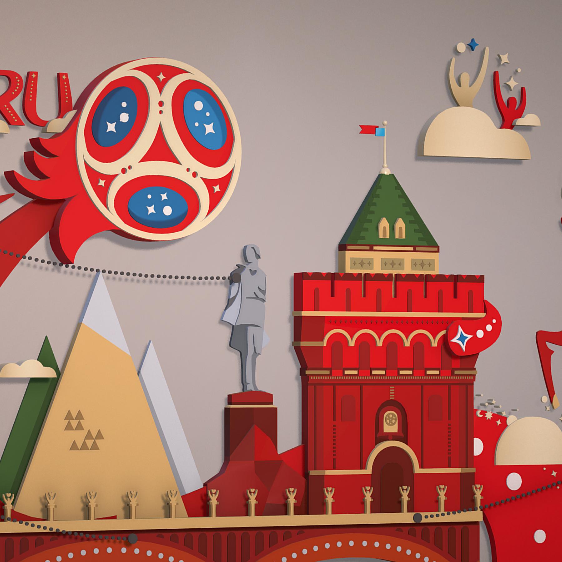 world cup 2018 russia host city novgorod 3d model max  fbx jpeg jpg ma mb obj 271580