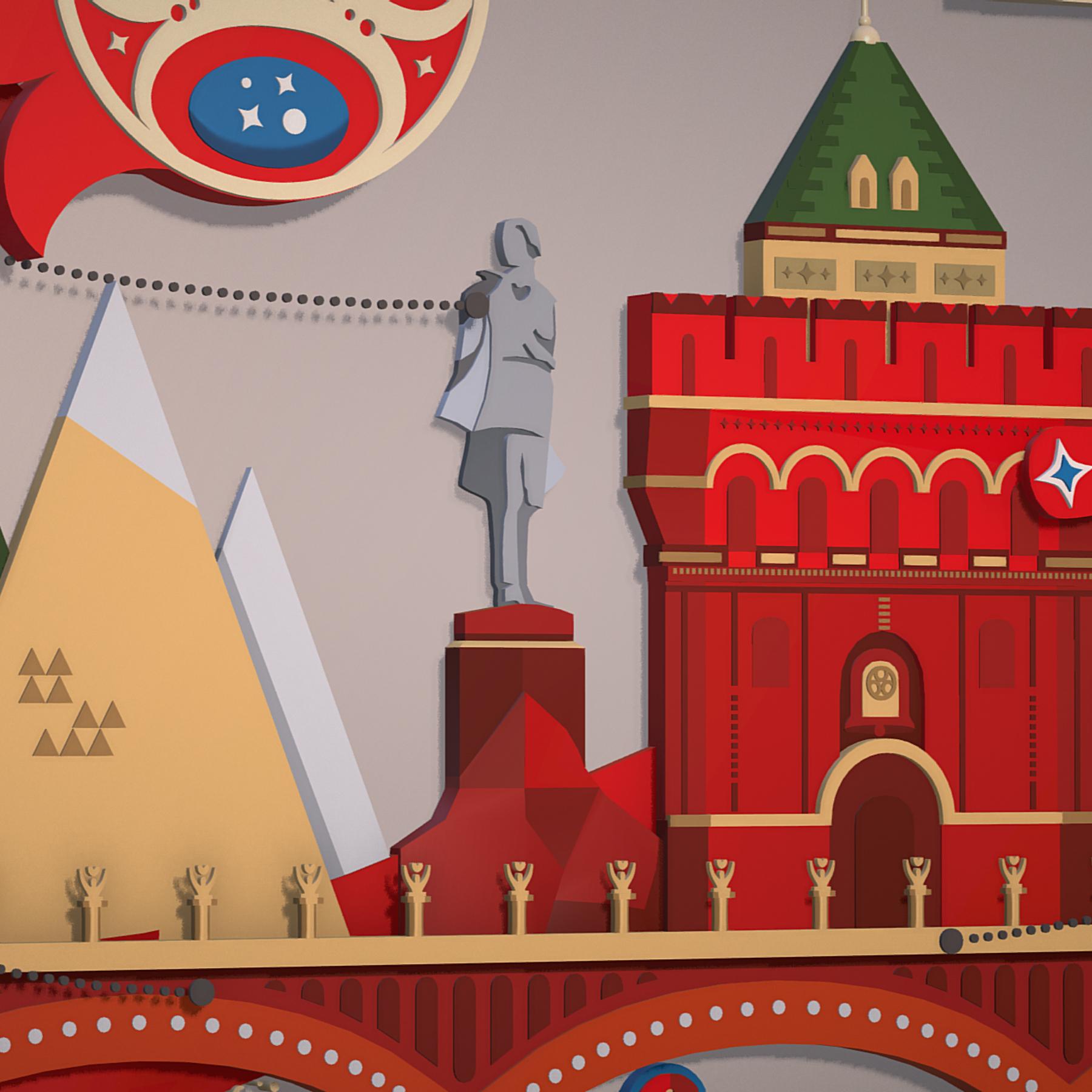 world cup 2018 russia host city novgorod 3d model max  fbx jpeg jpg ma mb obj 271581