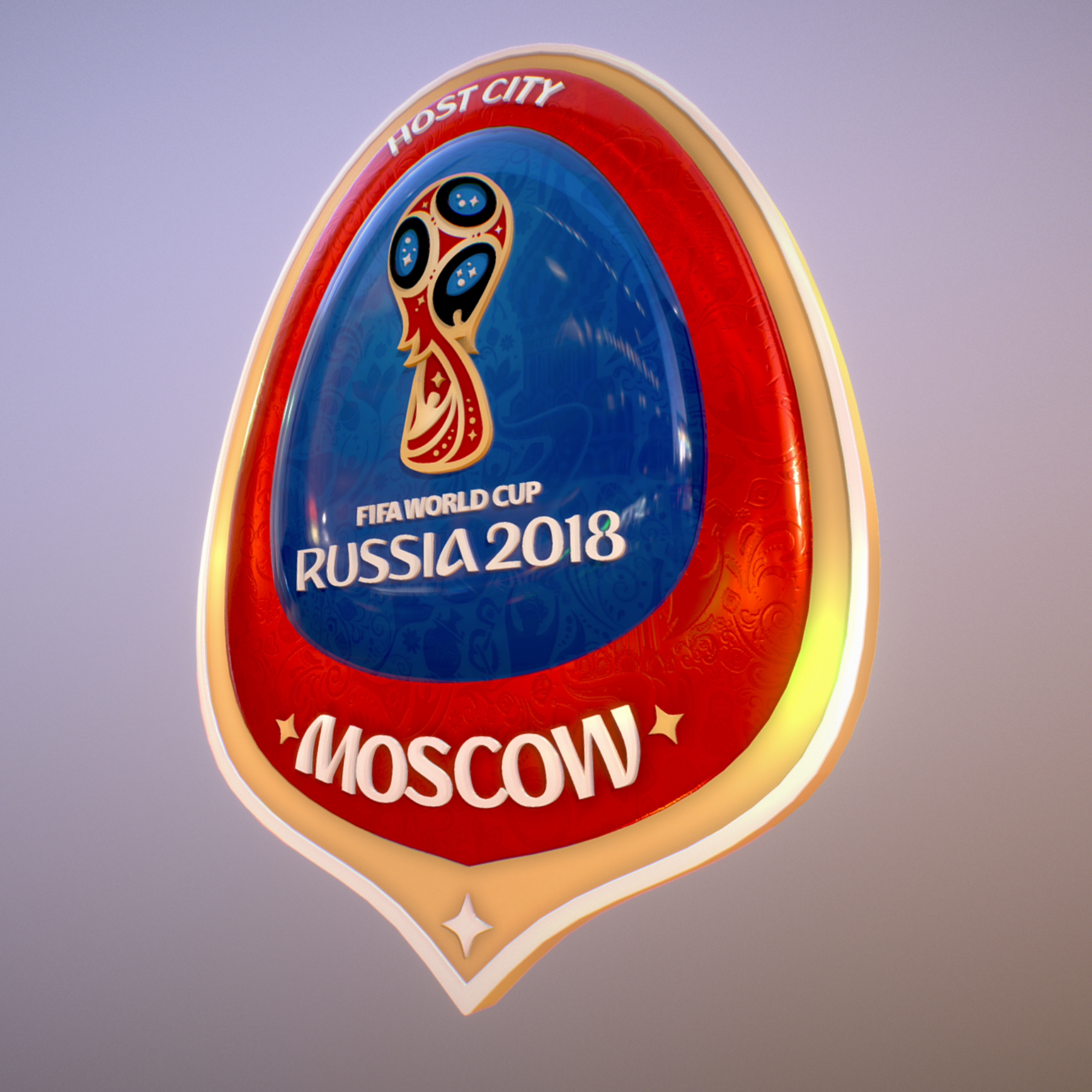 moscow host city world cup russia 2018 symbol 3d model max  fbx jpeg jpg ma mb obj 271652
