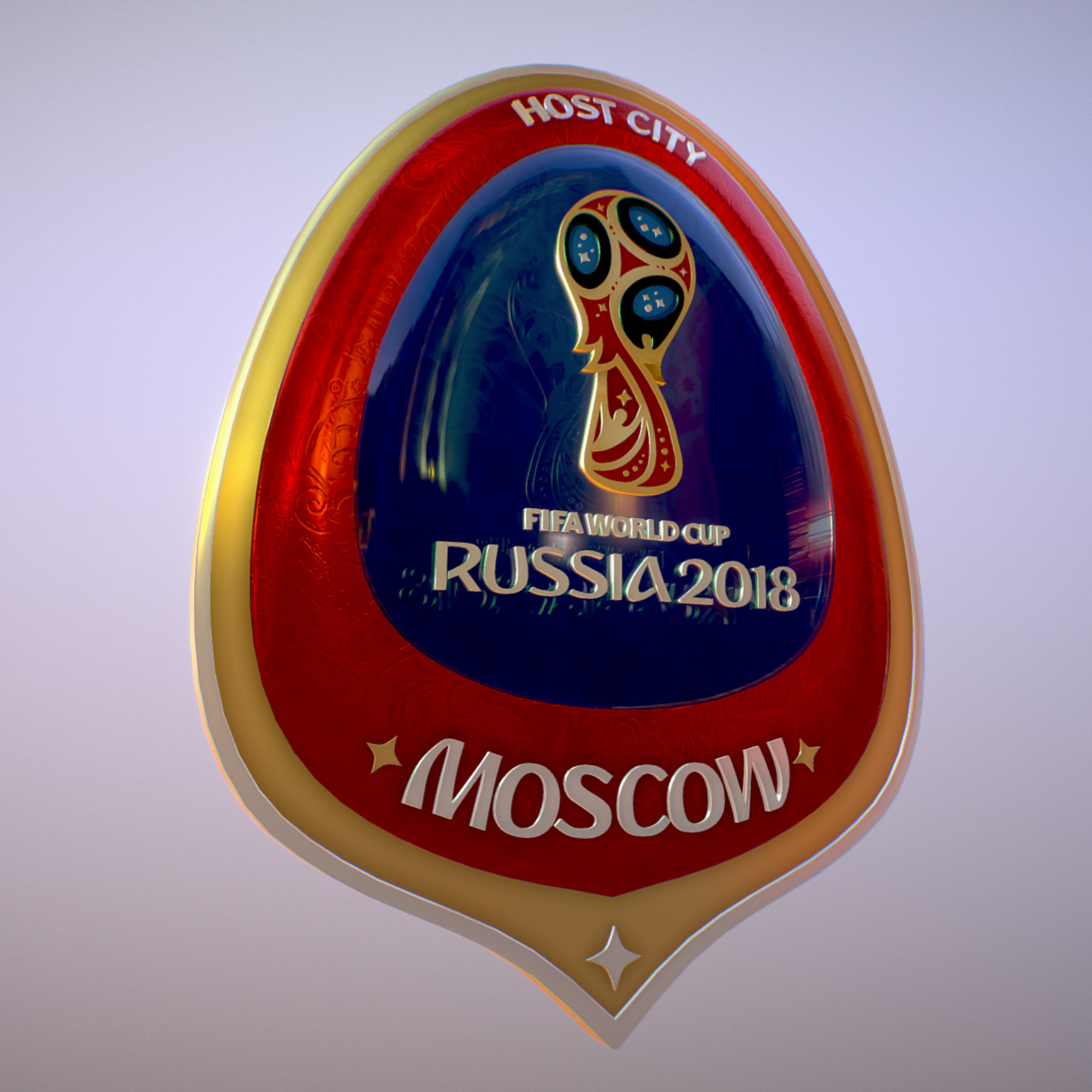 moscow host city world cup russia 2018 symbol 3d model max  fbx jpeg jpg ma mb obj 271654